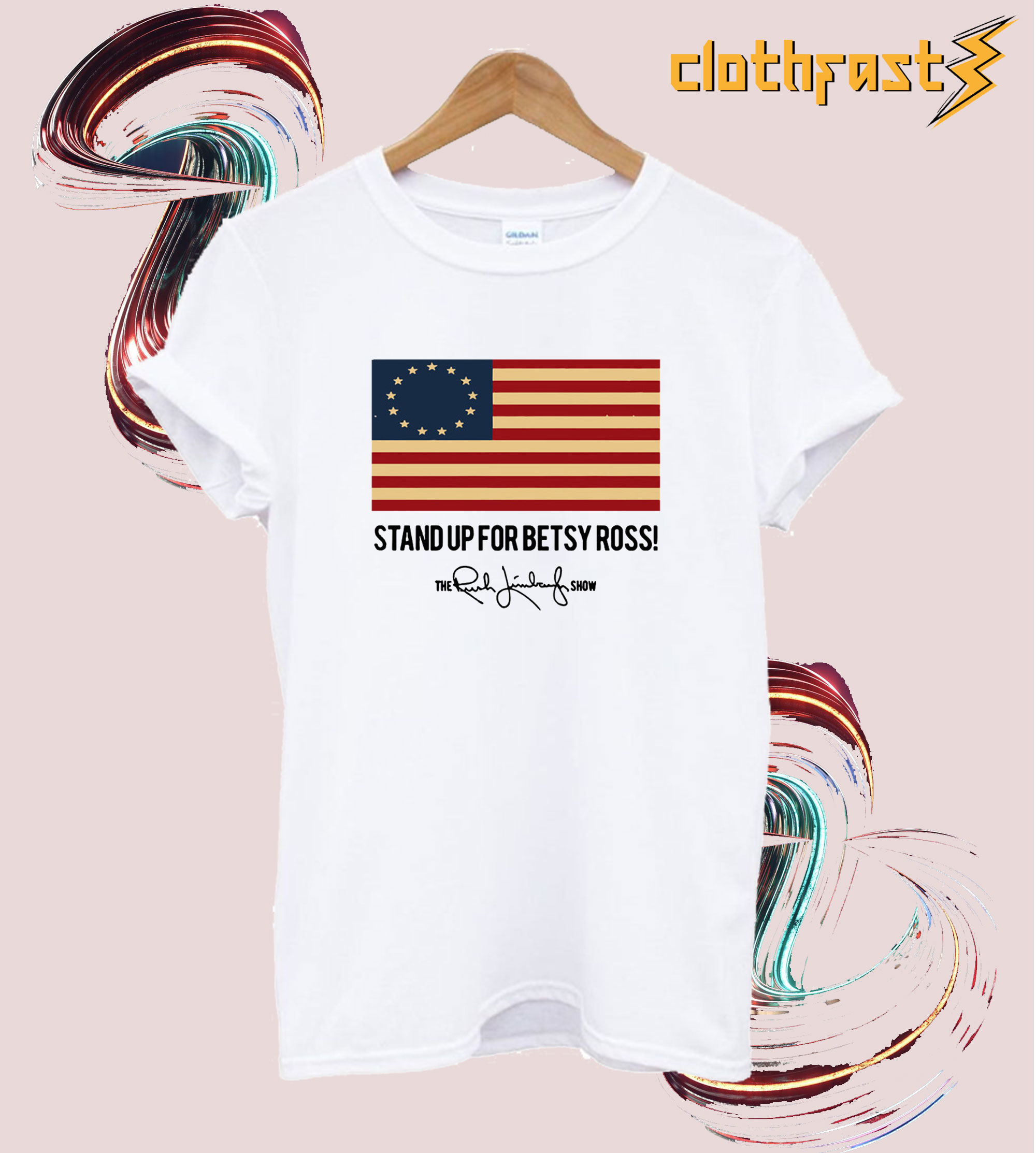 Rush Limbaugh Betsy Ross T-Shirt