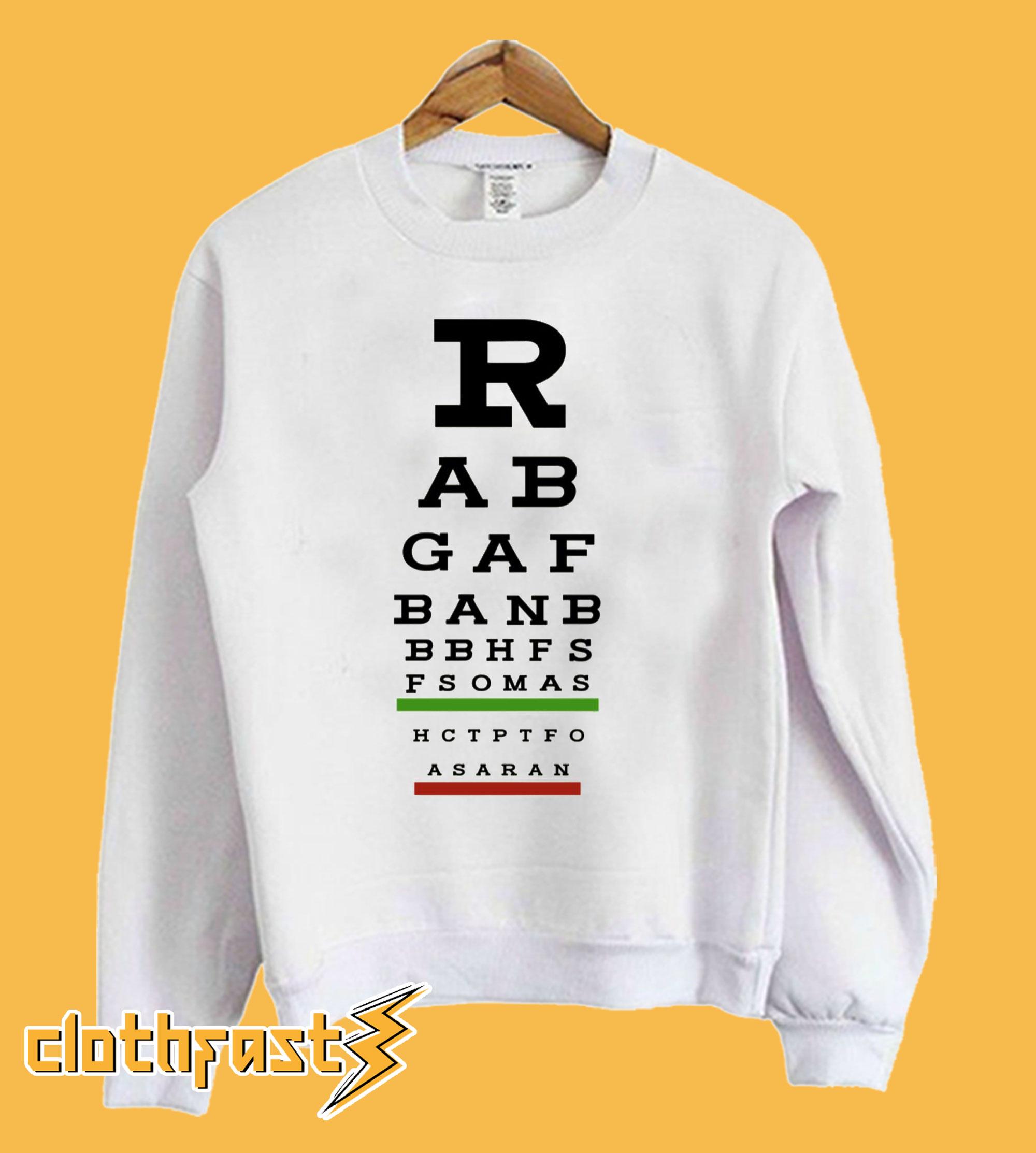 Act Up Rabgafban Sweatshirt