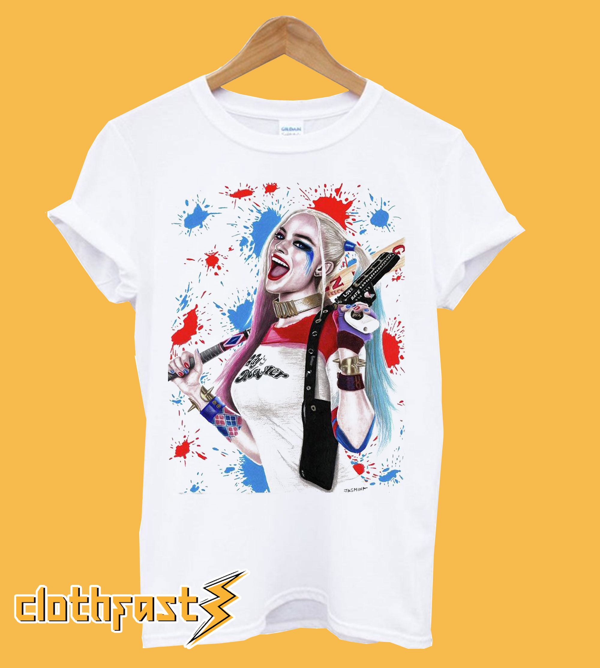 Harley Quinn Artwork T-Shirt