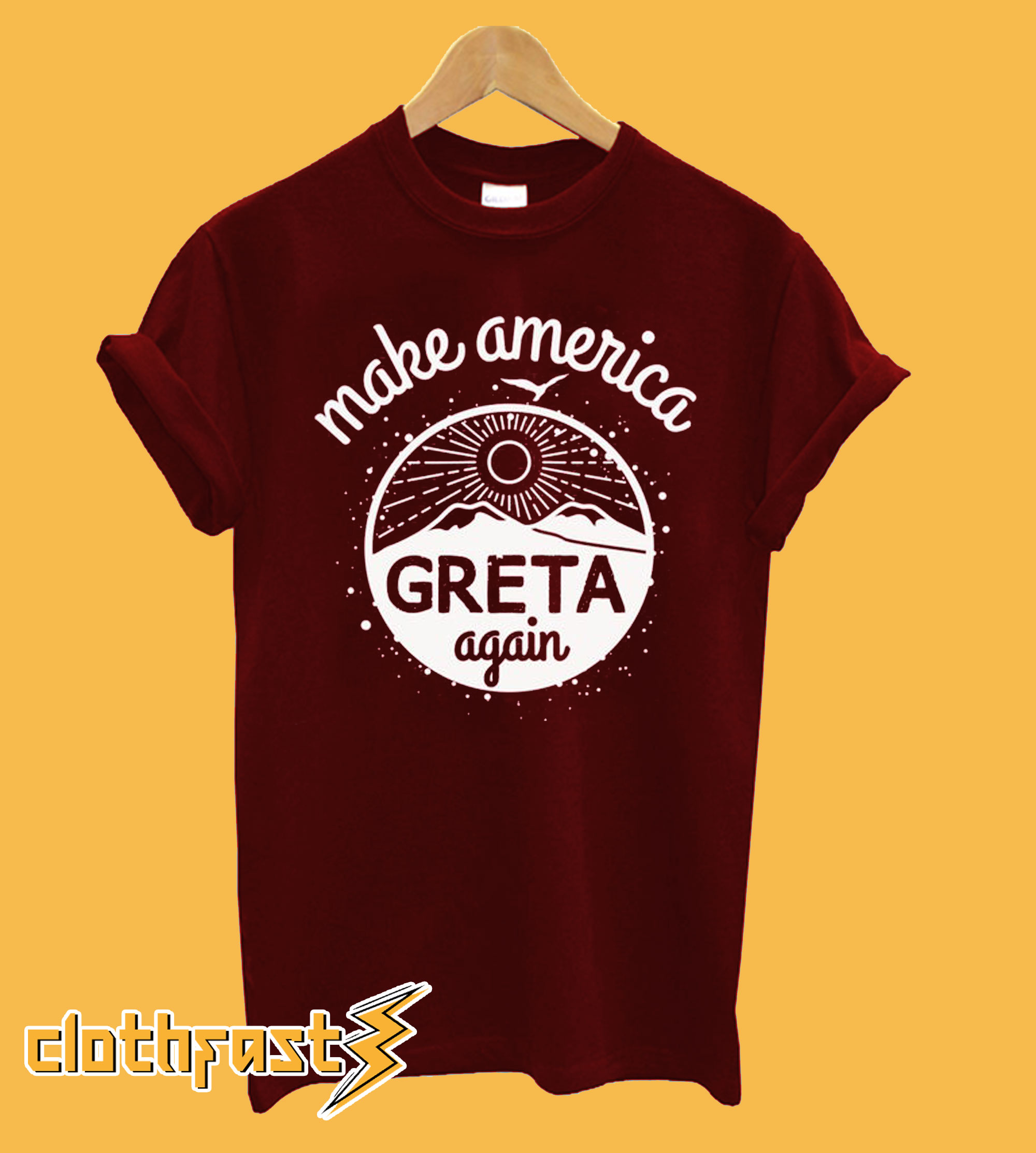 Make America GRETA Again T-Shirt