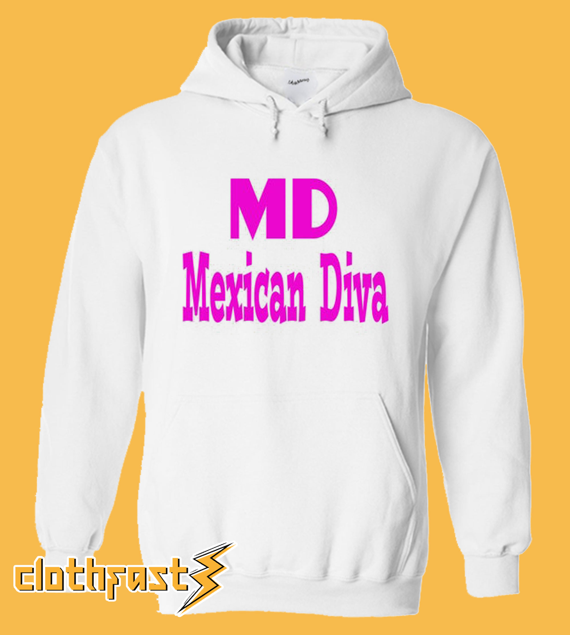 Mexican Diva Hoodie