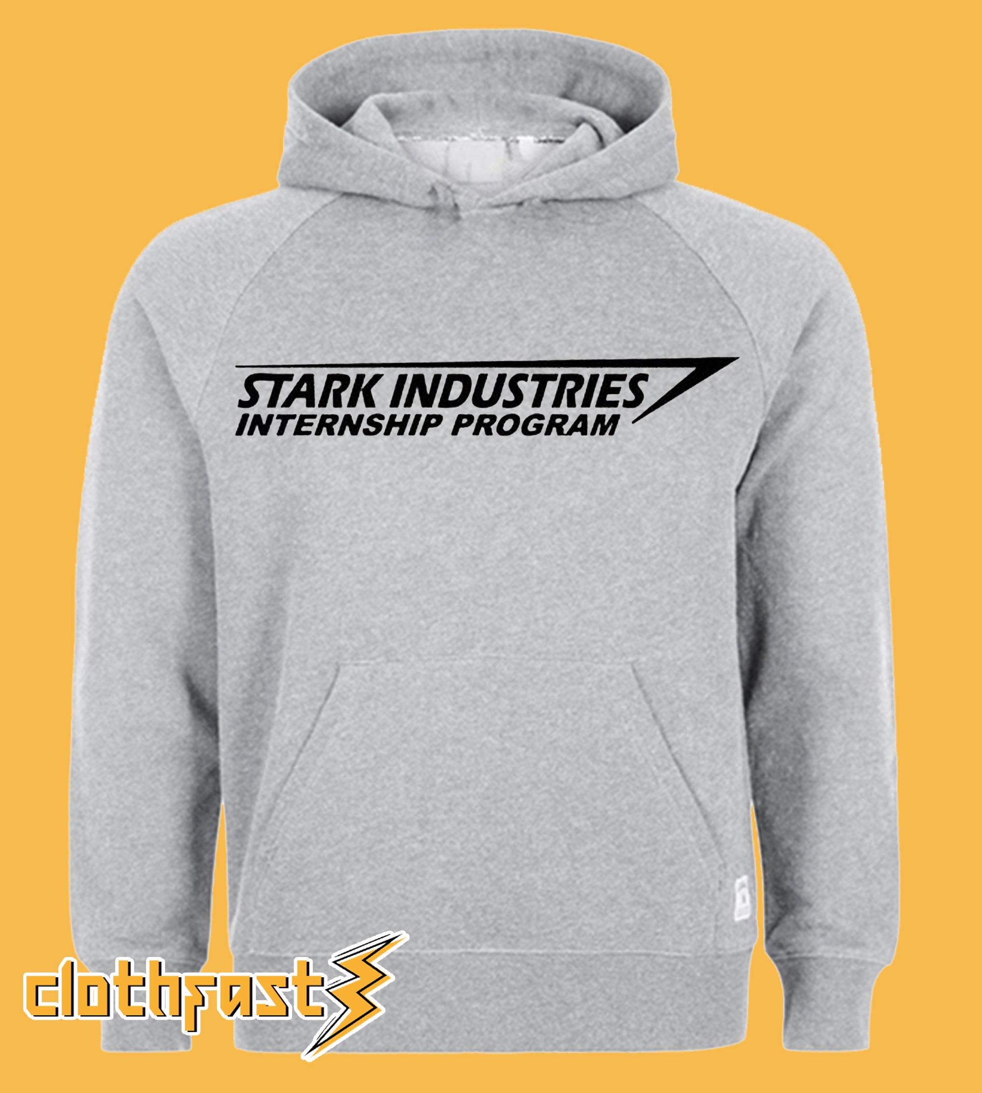 Stark Industries Internship Program Hoodie