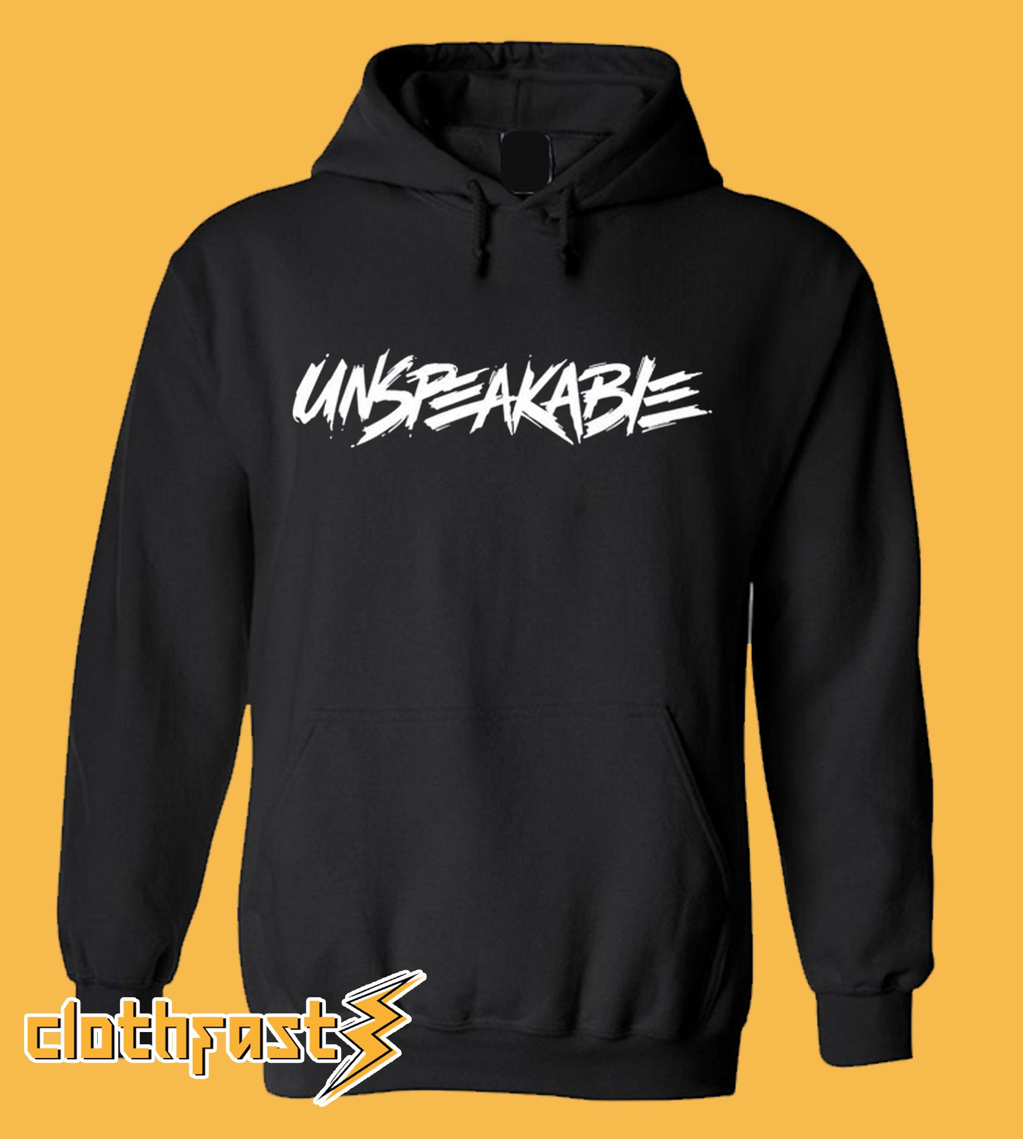 Unspeakable Hoodie