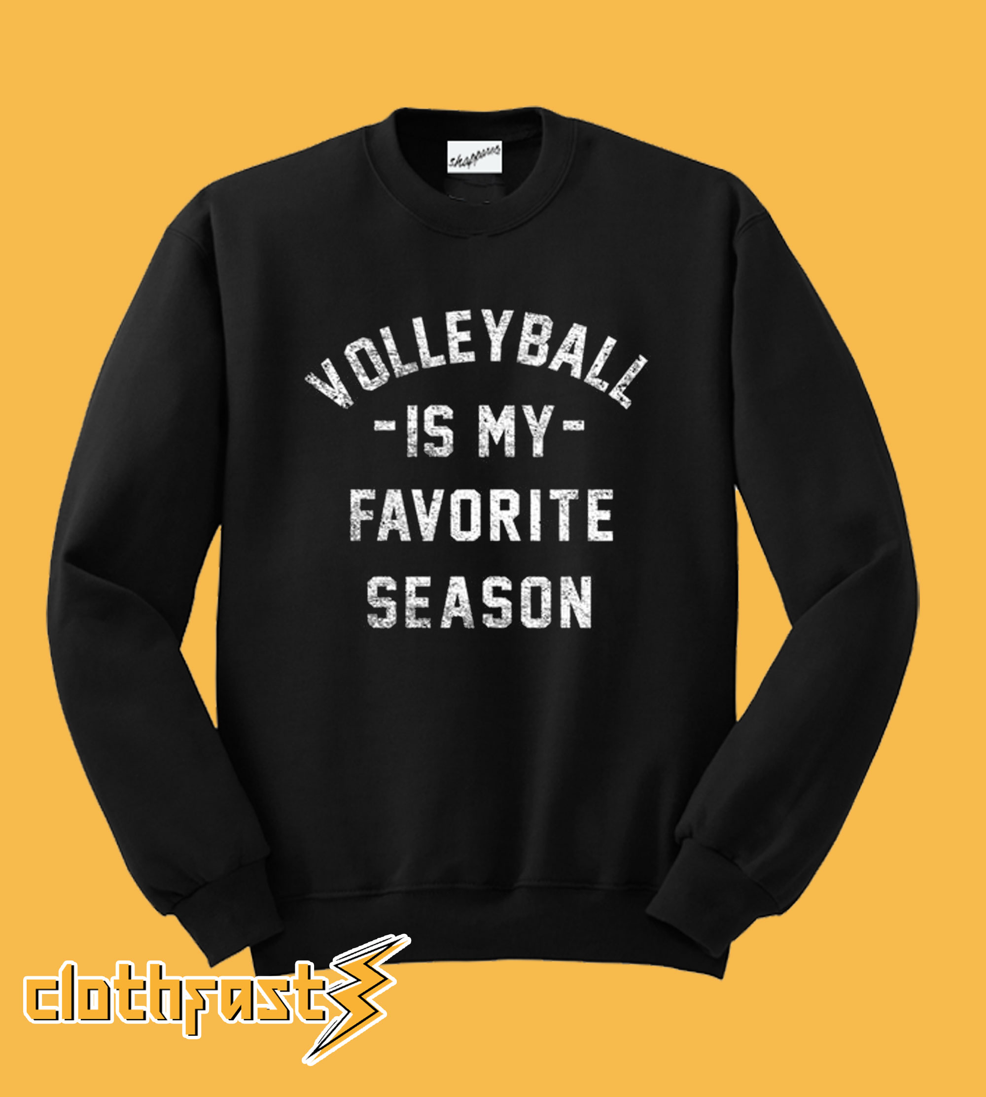 Volleyball Is My Favorite Season Sweatshirt