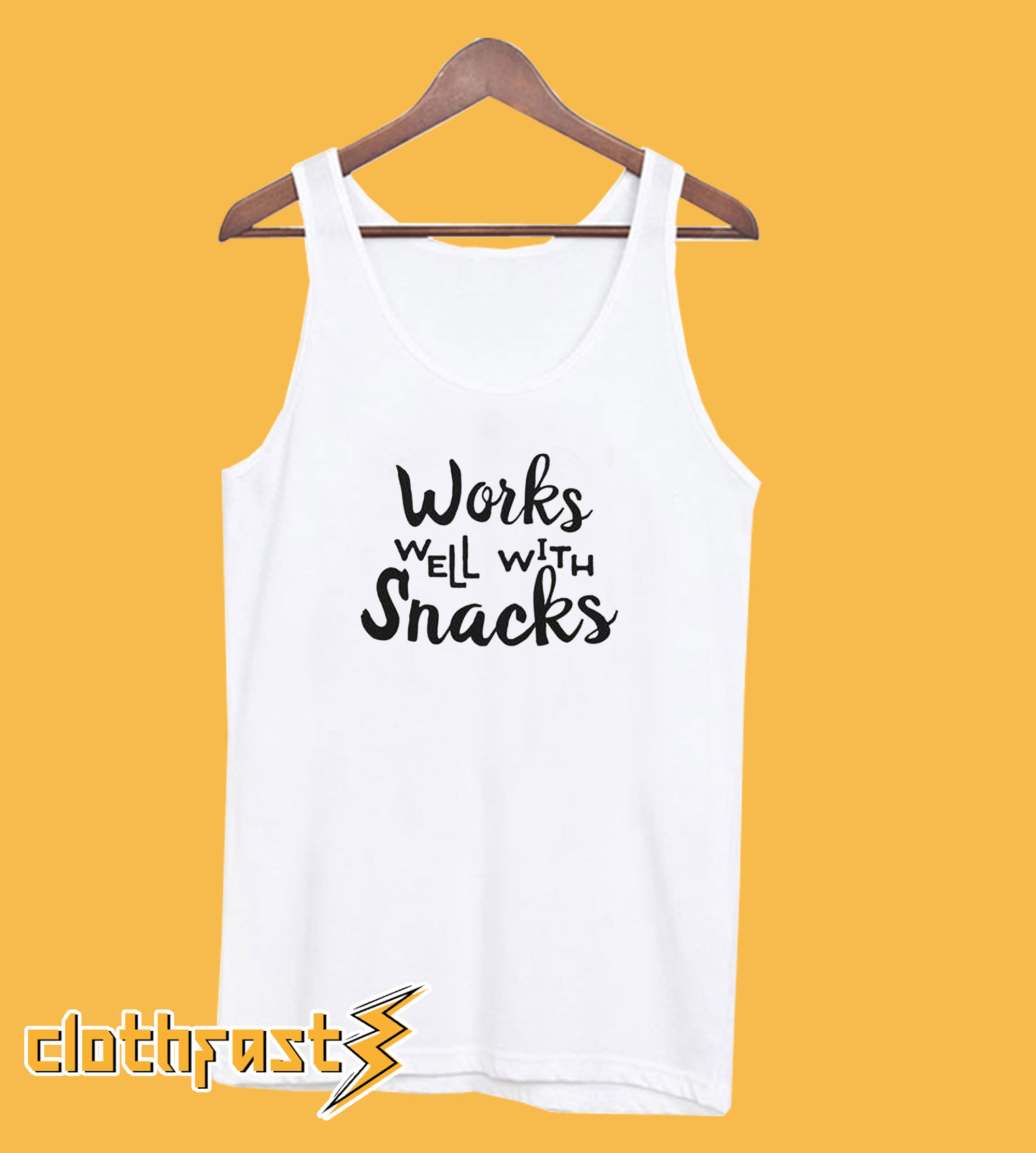 Works Well With Snacks Tanktop