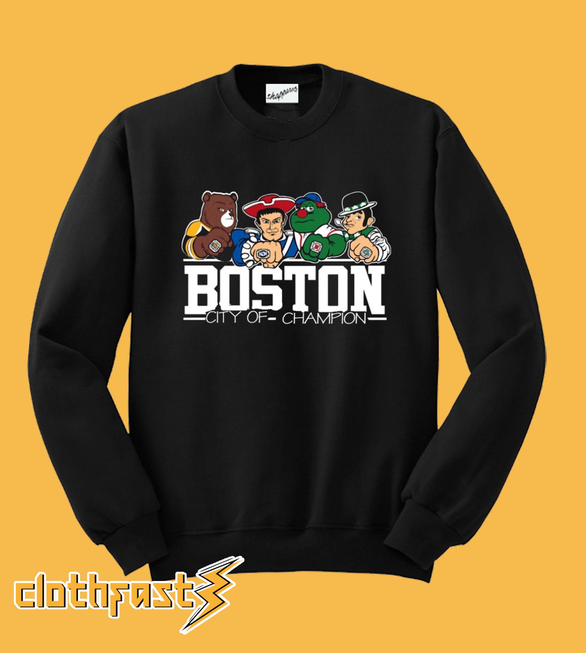 BOSTON City of Champion Sweatshirt