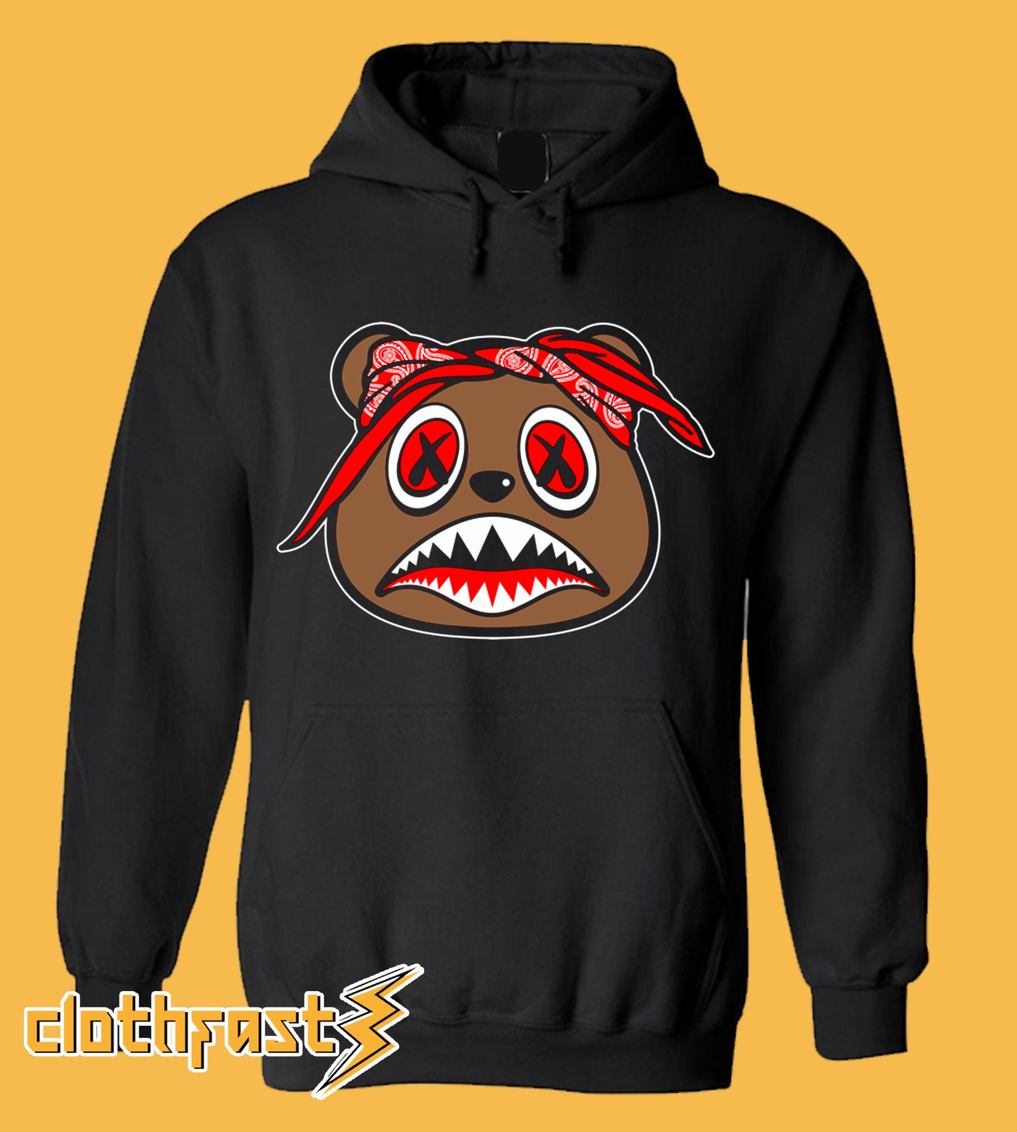 Bred Baws Black Hoodie