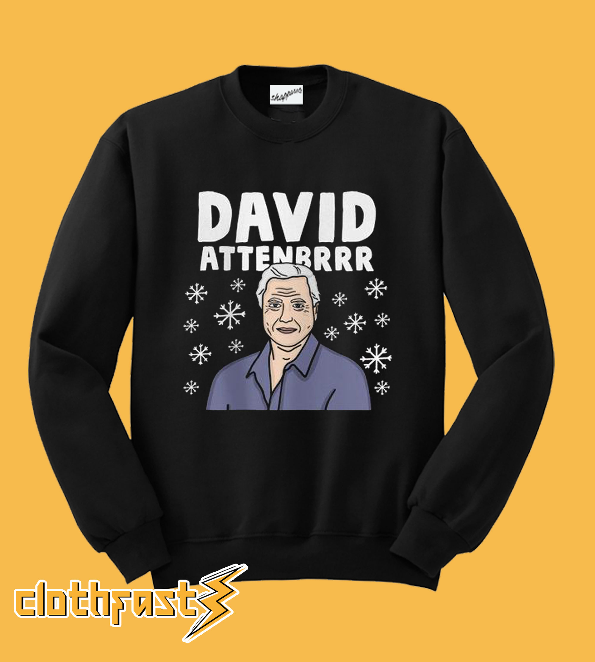 David Attenbrrr Christmas Sweatshirt
