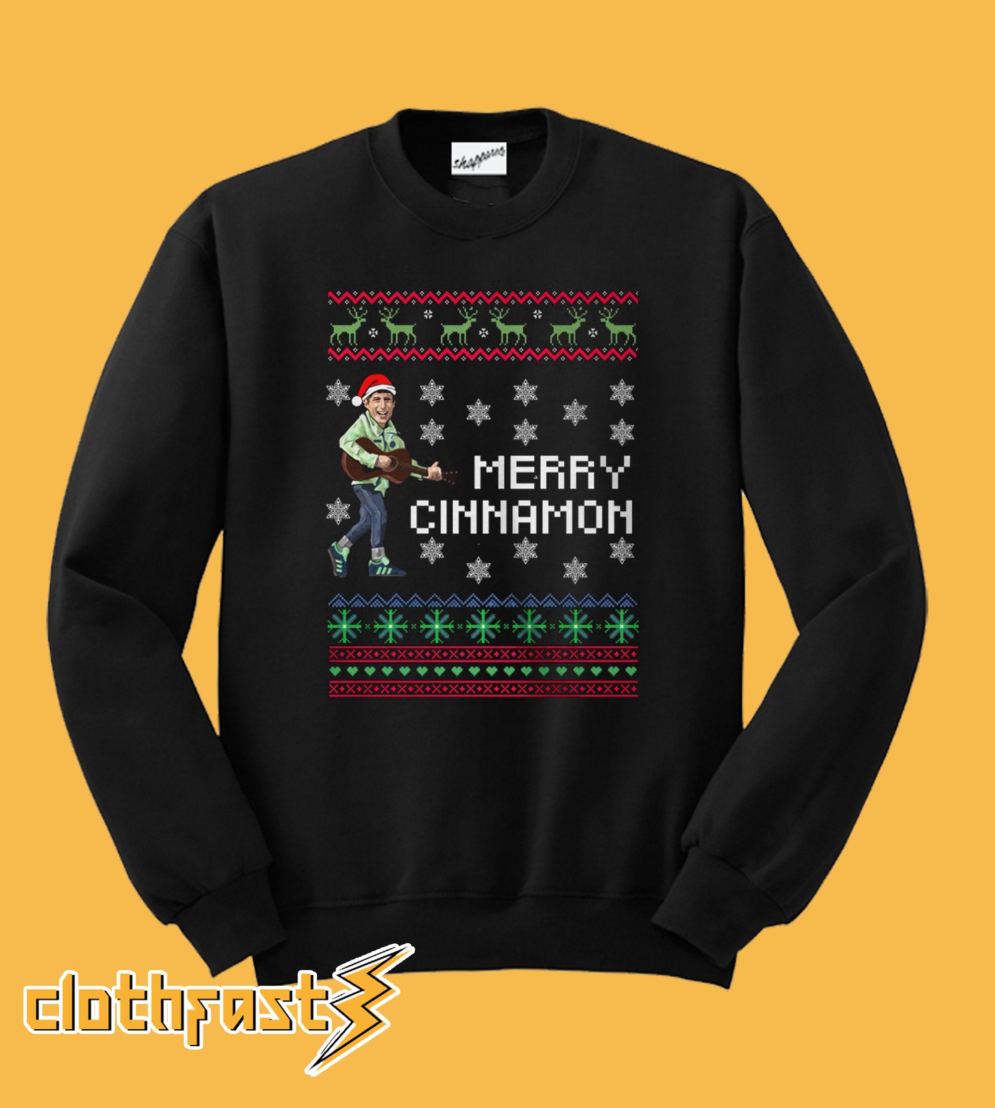 Gerry Cinnamon Merry Cinnamon Christmas Sweatshirt