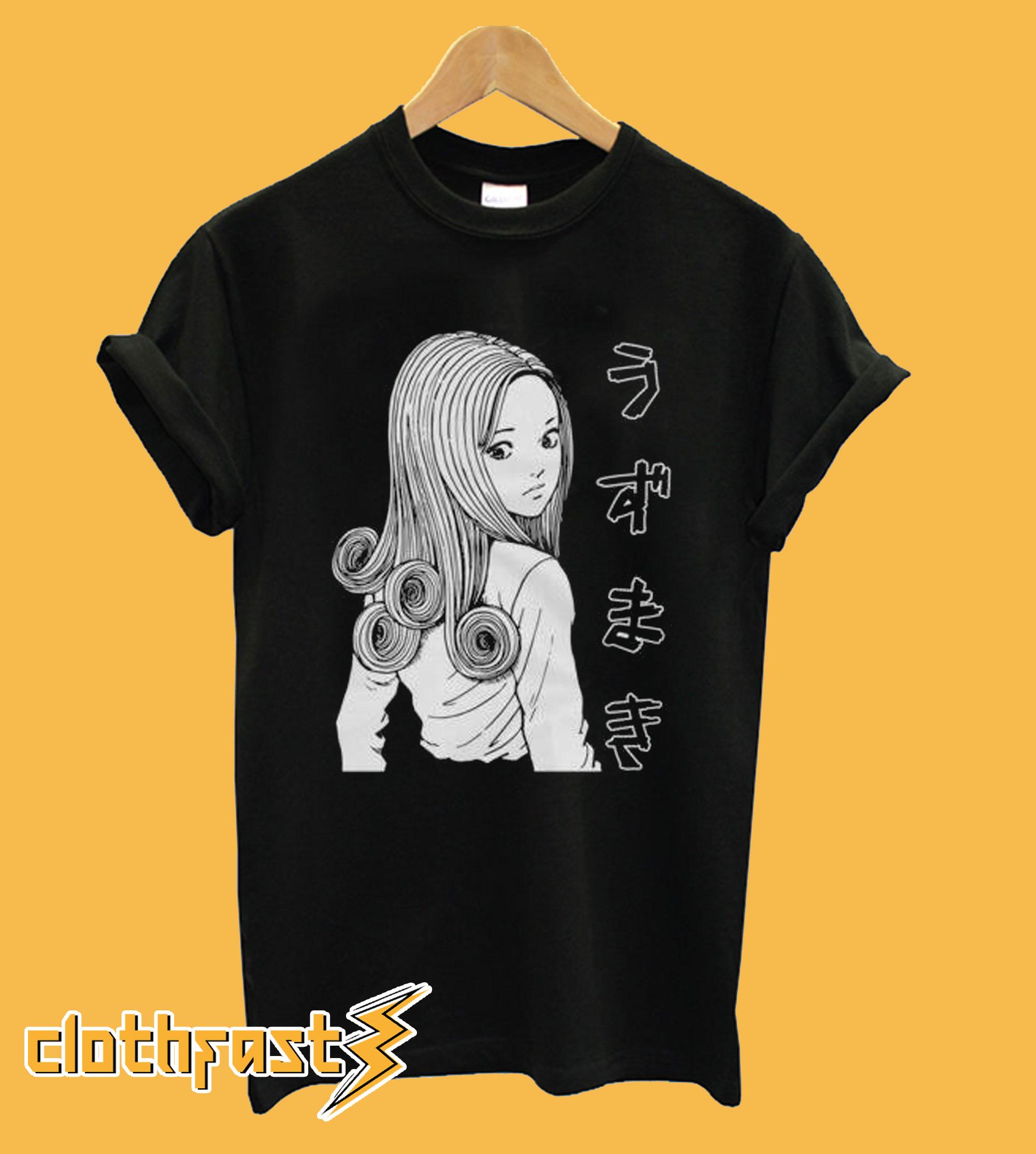 Junji Ito Uzumaki T-Shirt