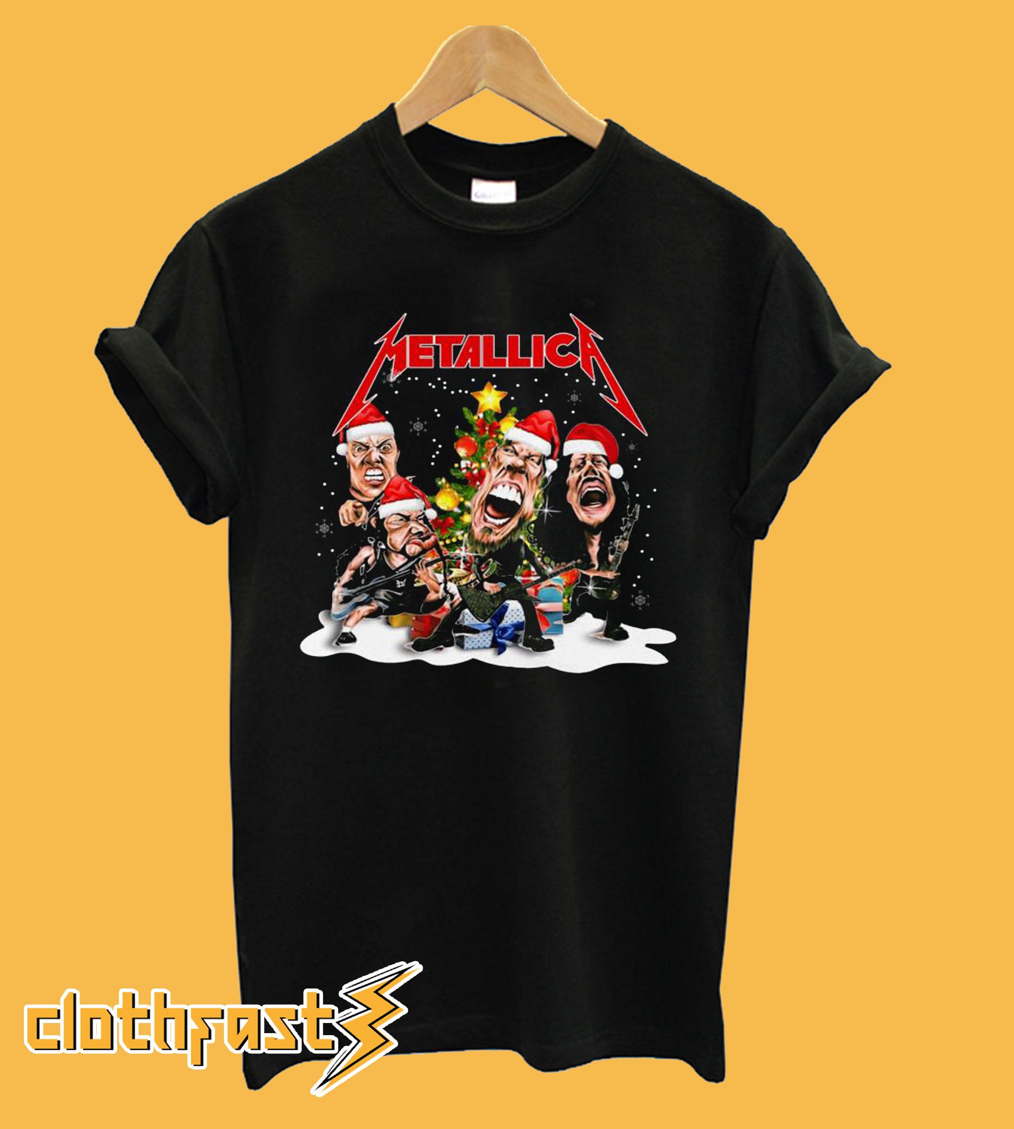 Metallica Christmas T-shirt