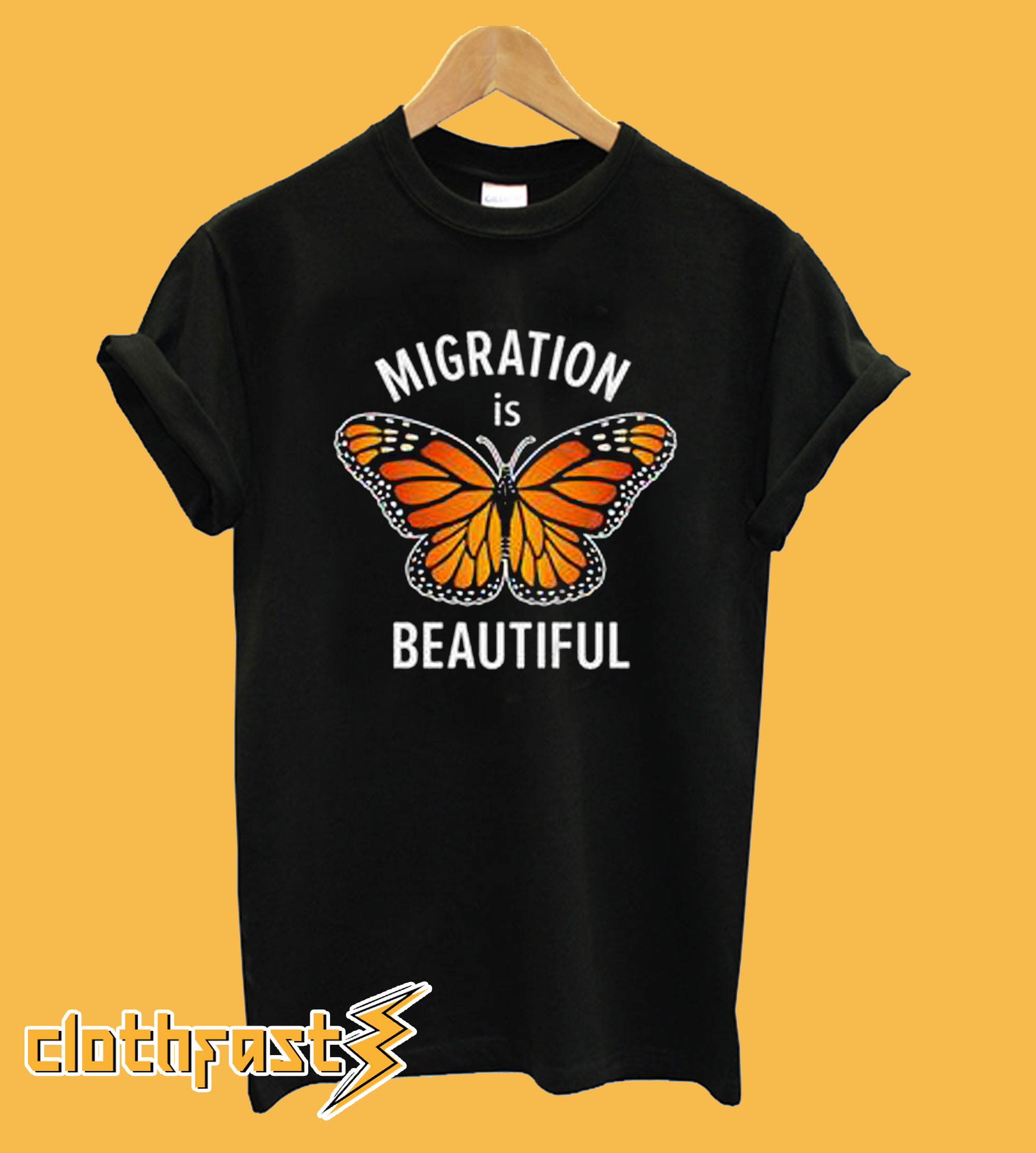 Migration is Beautiful T-shirt