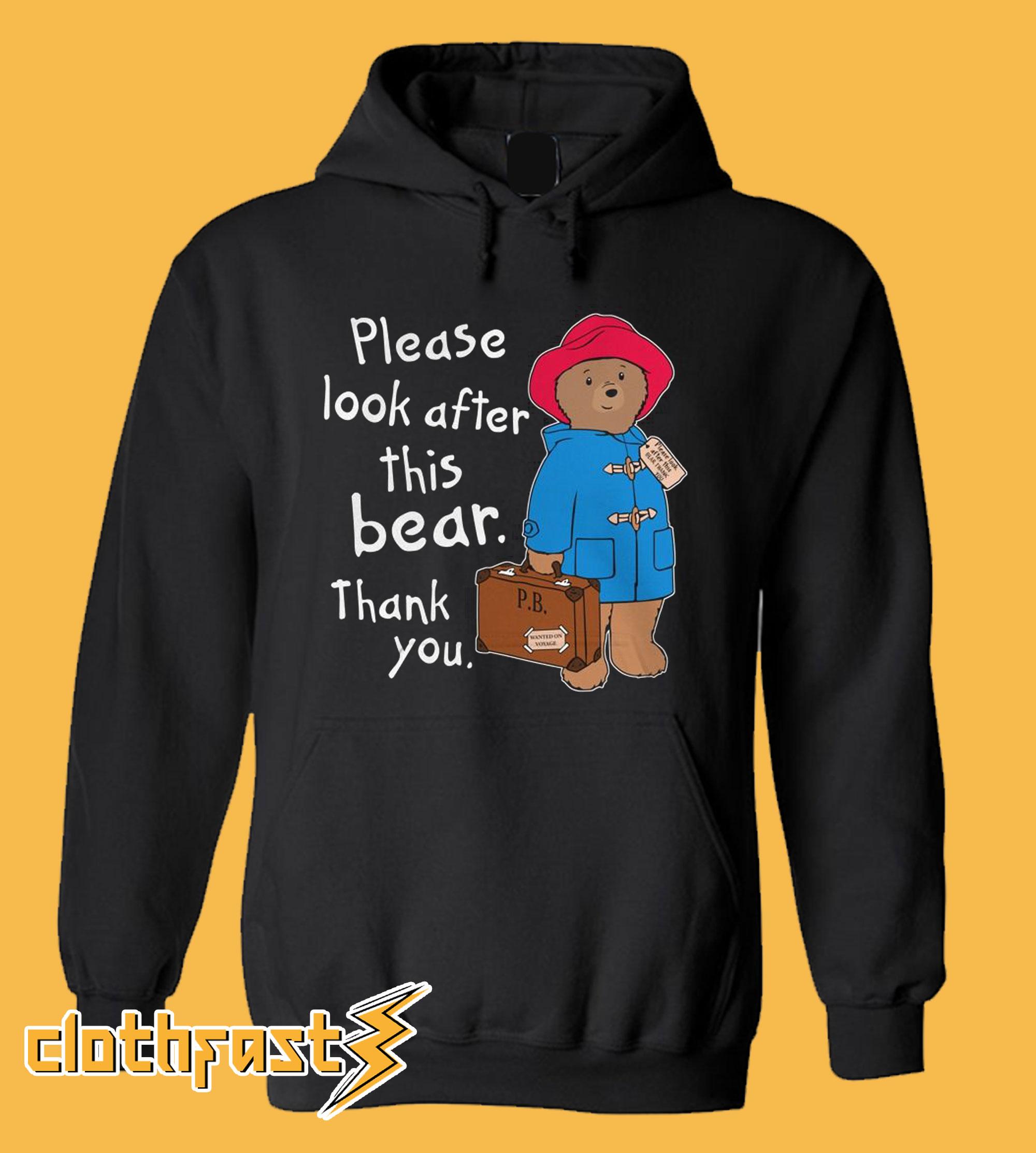 Paddington Bear Hoodie