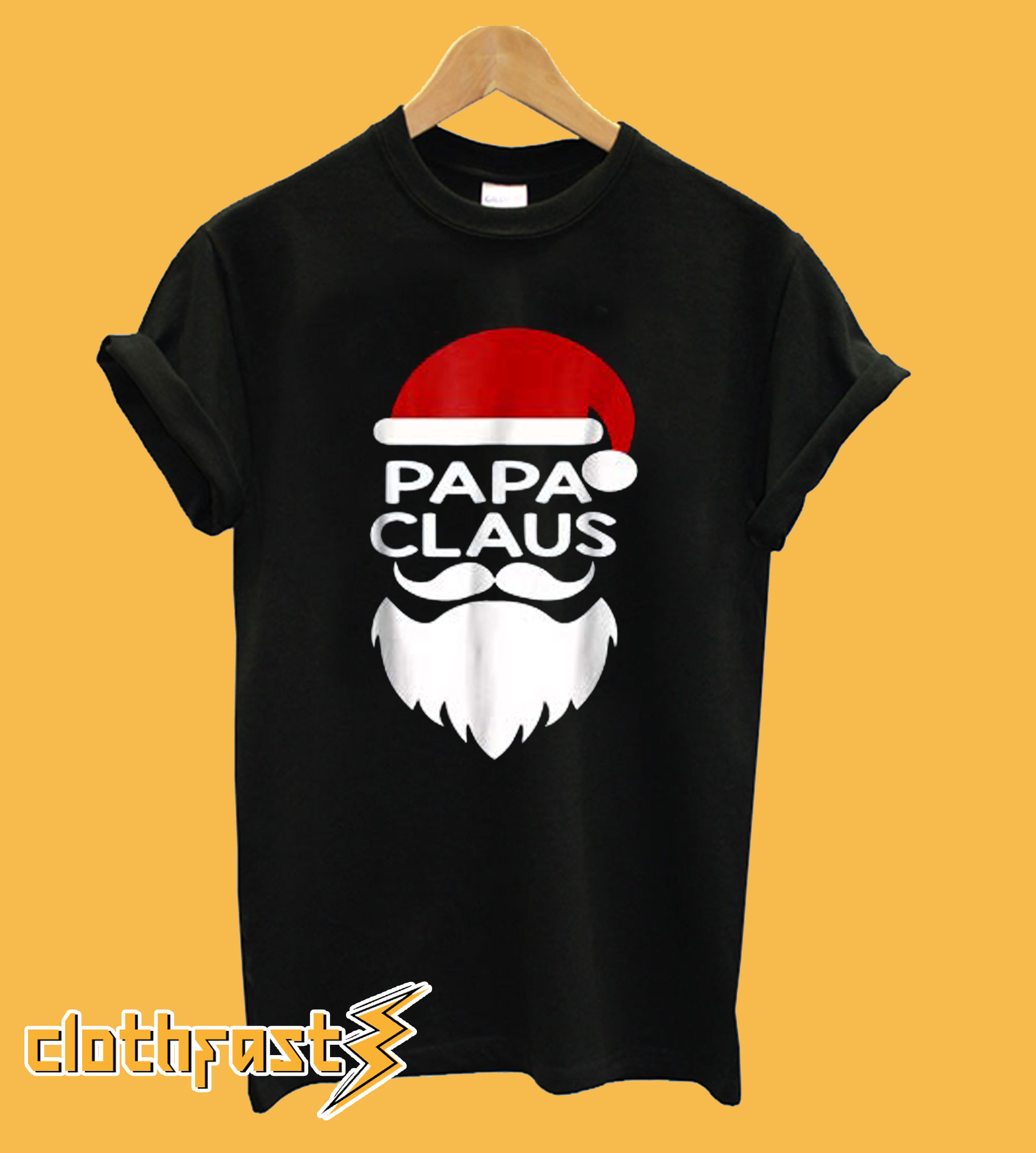 Papa Claus Family Christmas T-shirt