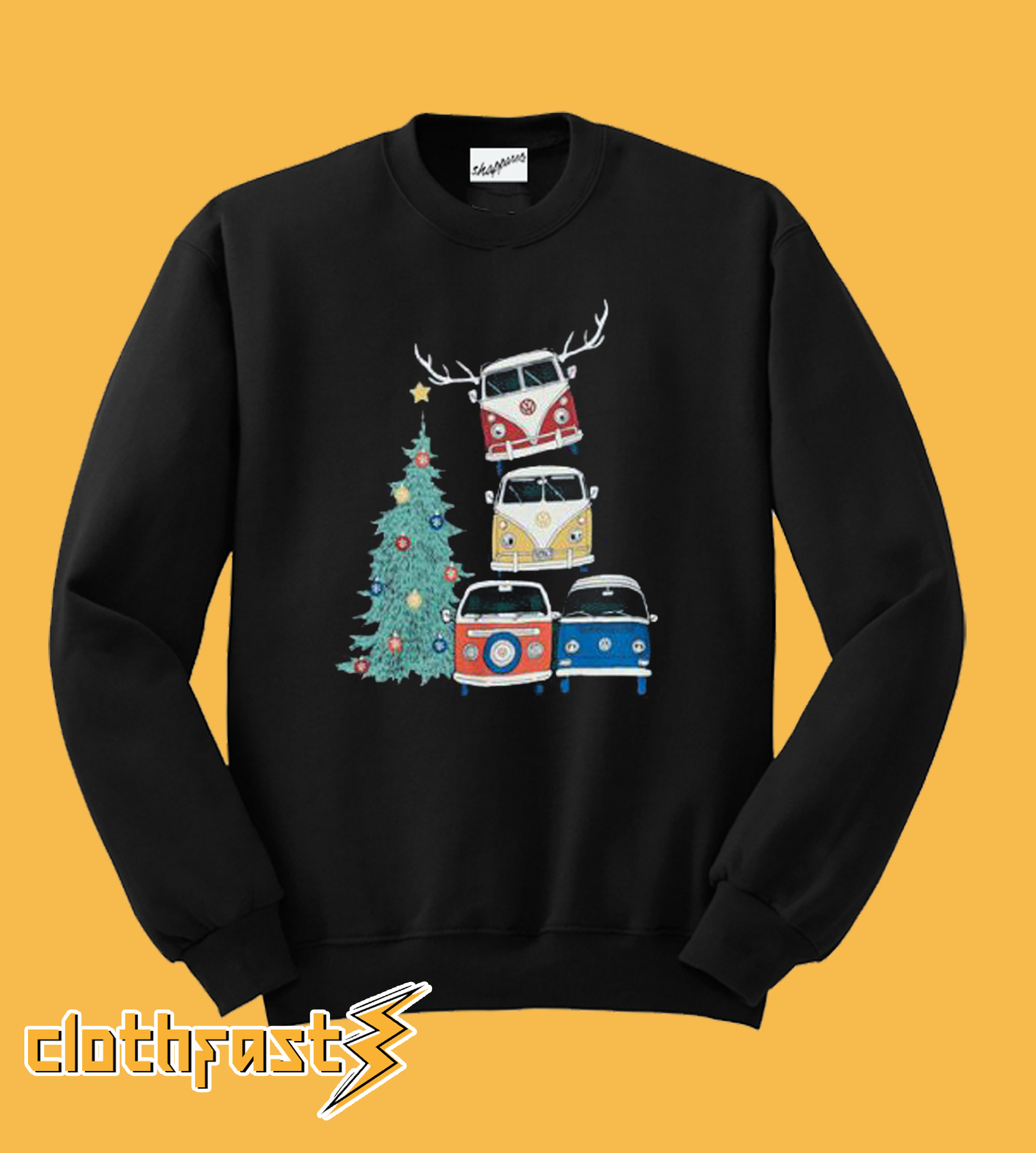 VW Christmas Graphic Sweatshirt
