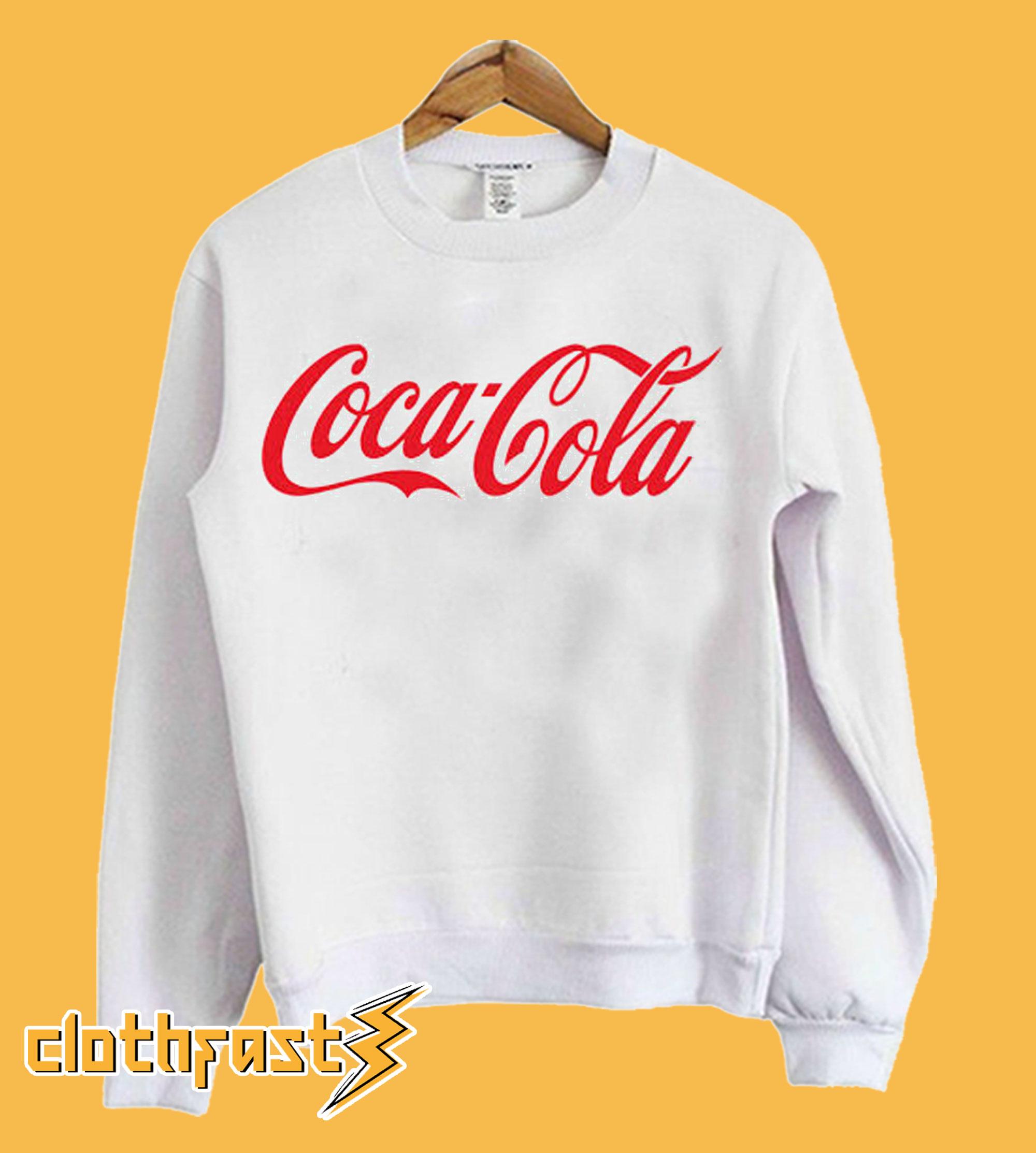 Coca Cola Logo Sweatshirt