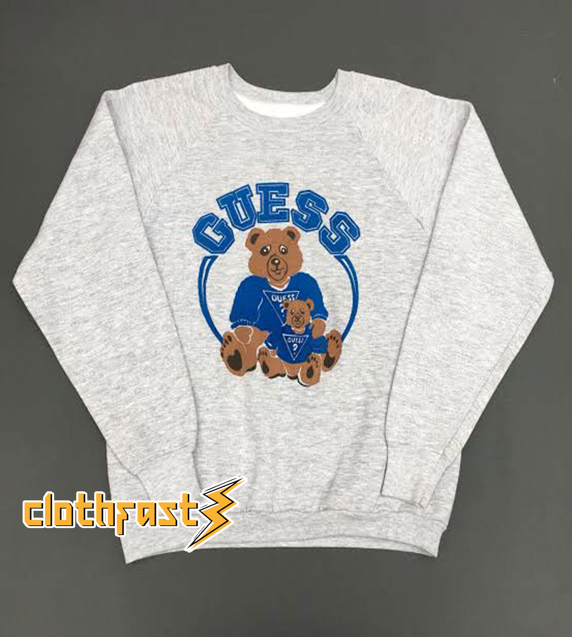 Guess Teddy Bear Sweatshirt