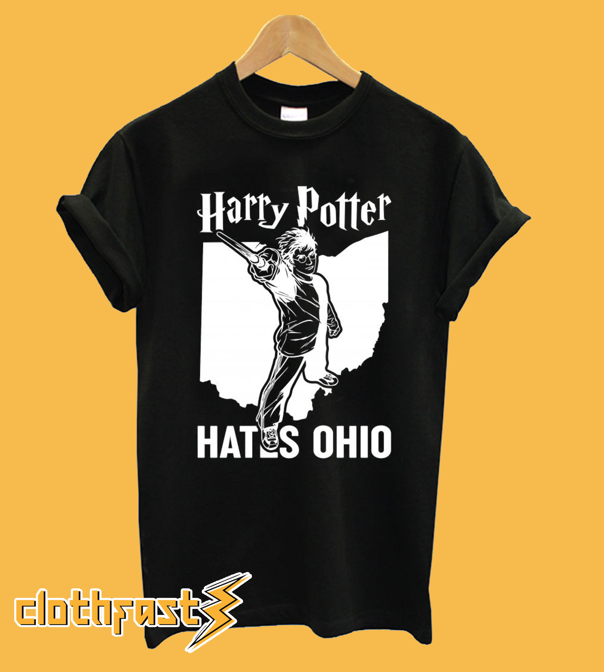 Harry Potter Hates Ohio T shirt