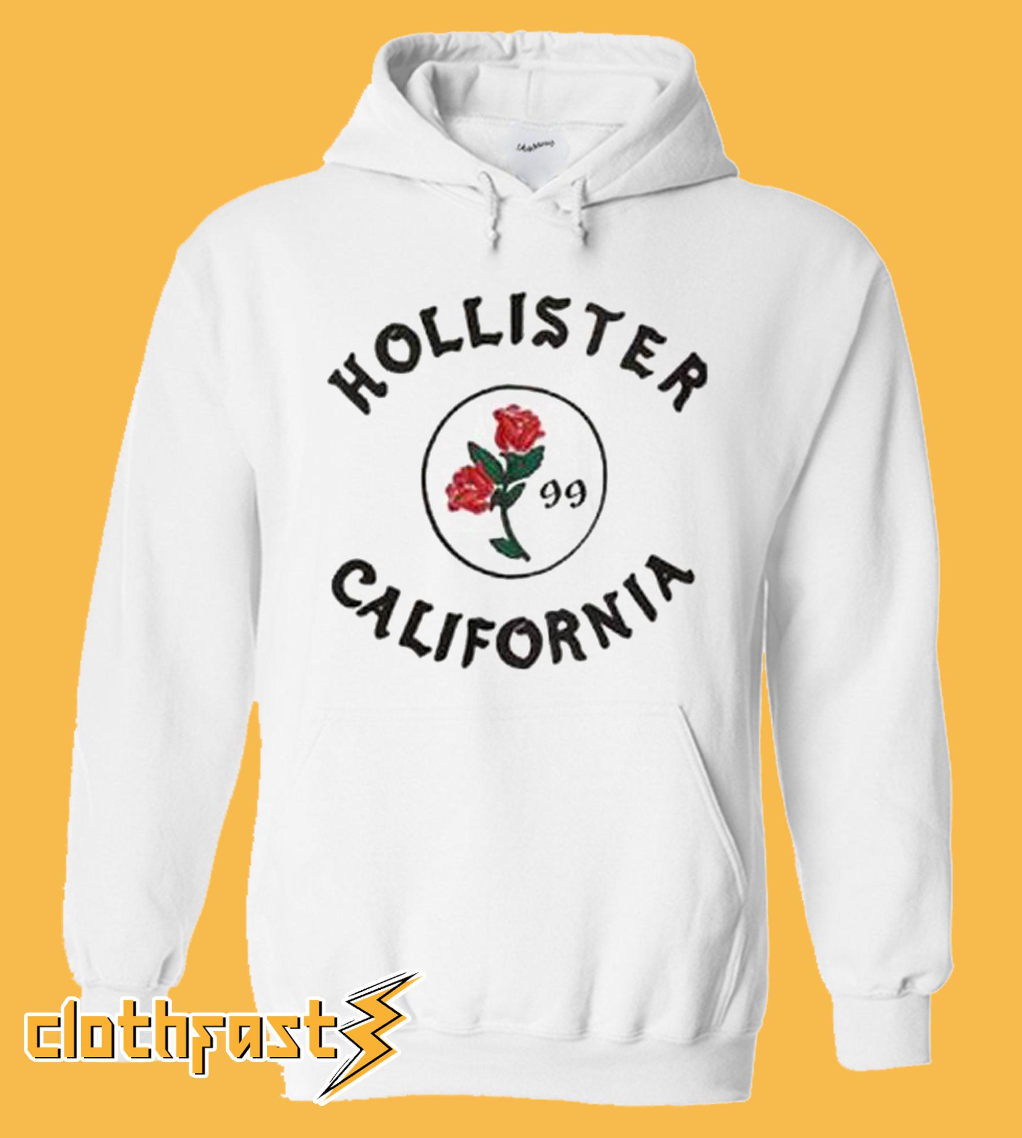 Hollister Rose California Hoodie