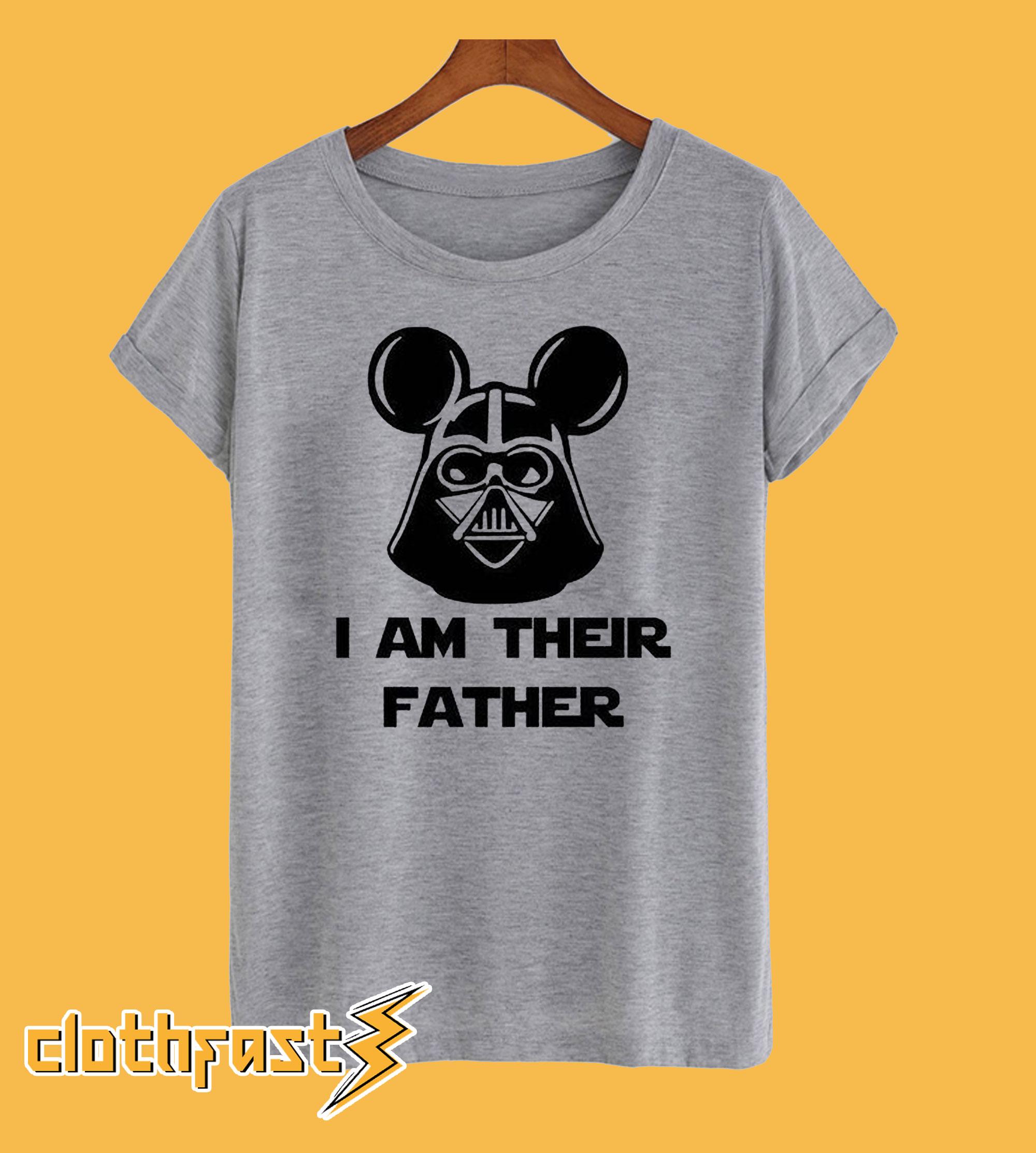 I'm Their Father Disney Darth Vader T-Shirt