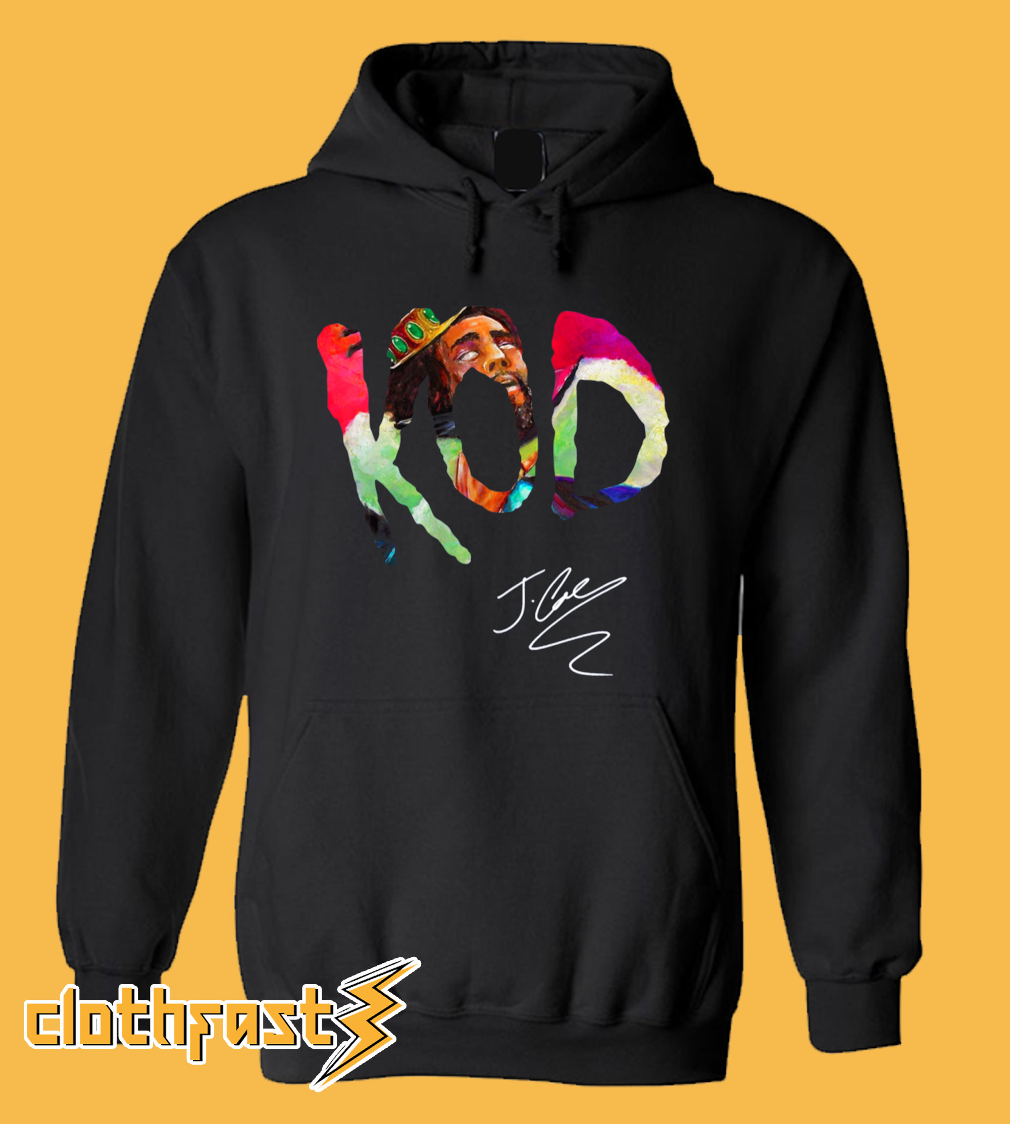 J. Cole's 'KOD' With Signature Hoodie