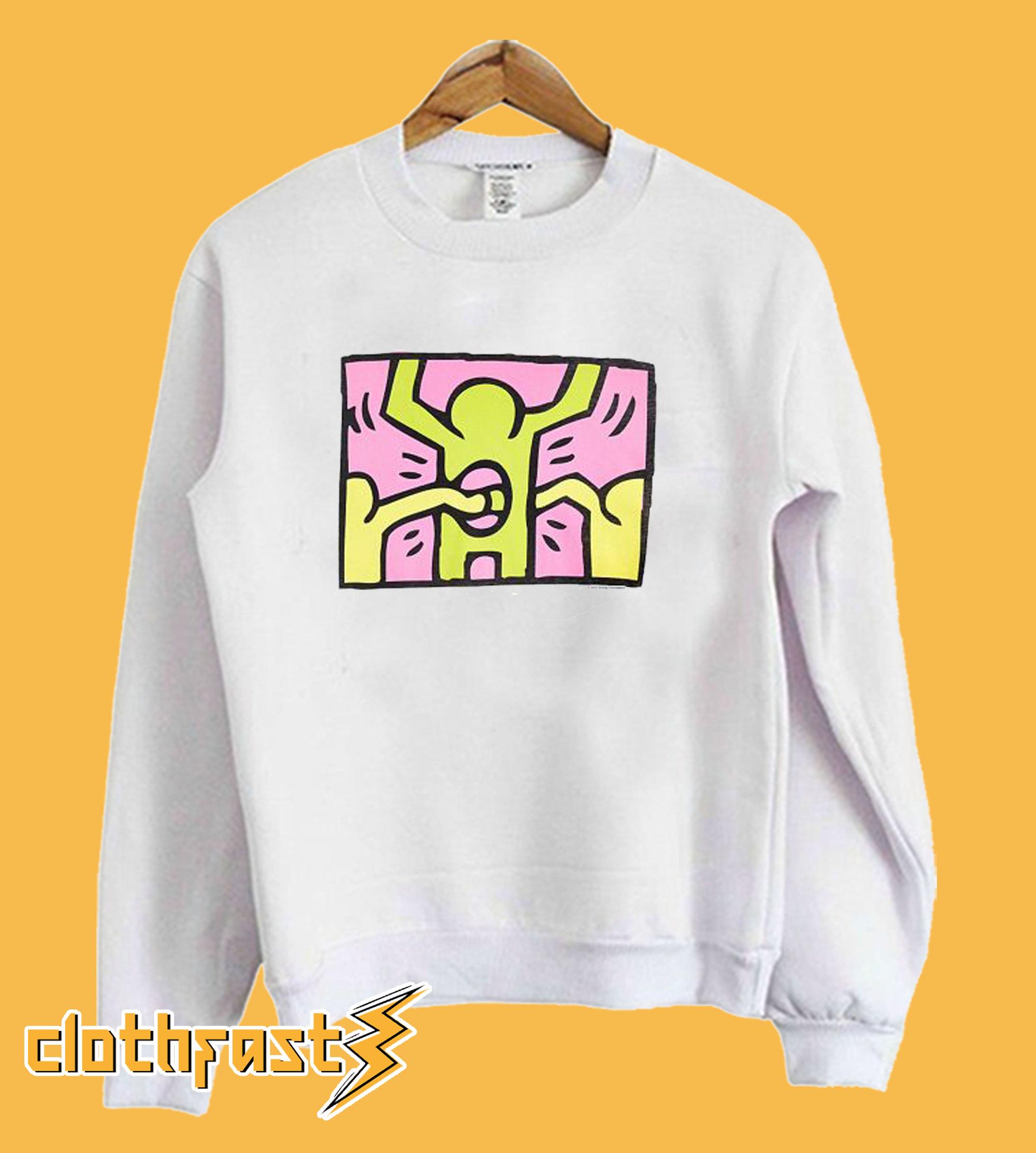 Junk Food Keith Haring Sweatshirt