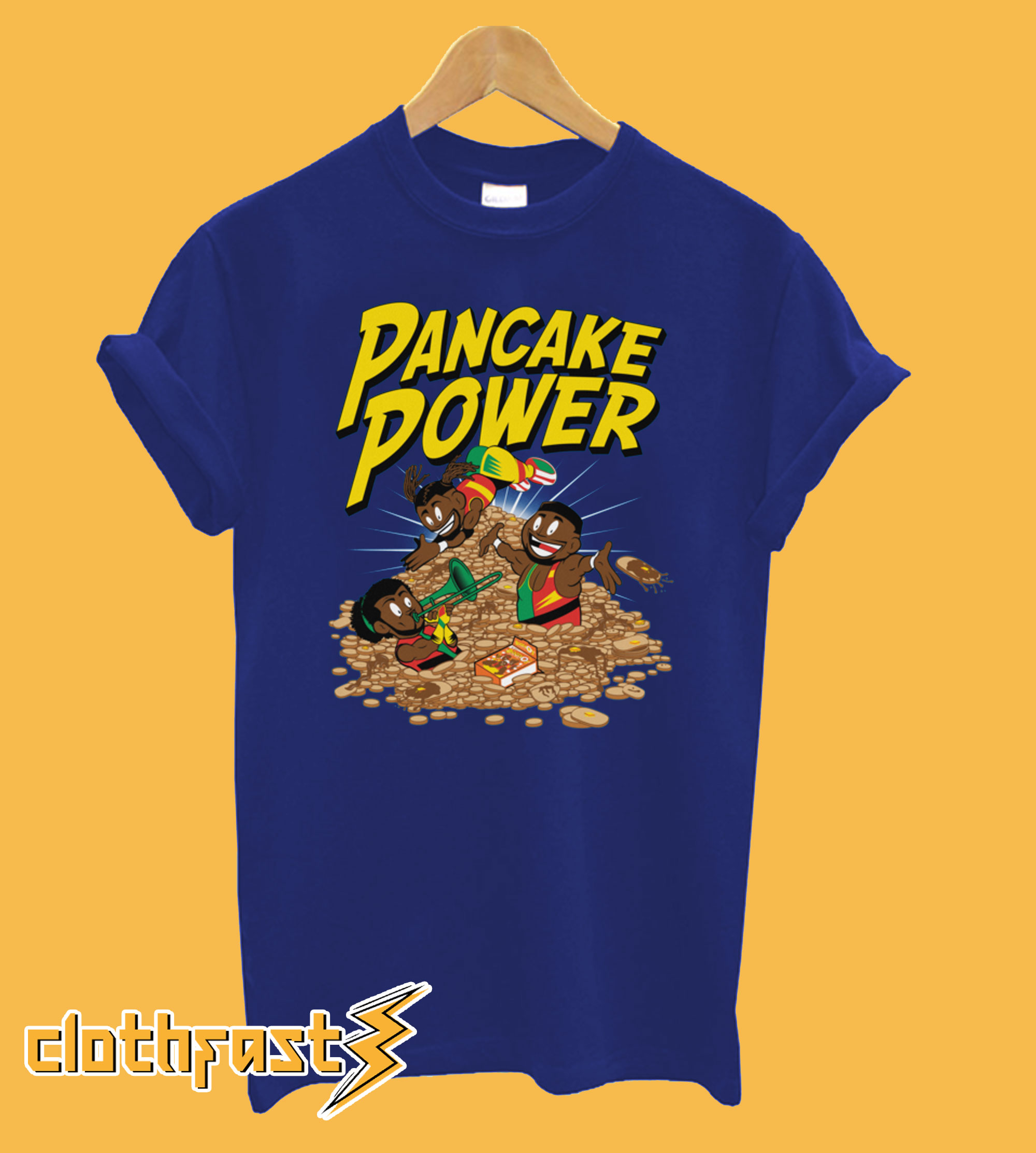 Pancake Power New Day T-Shirt