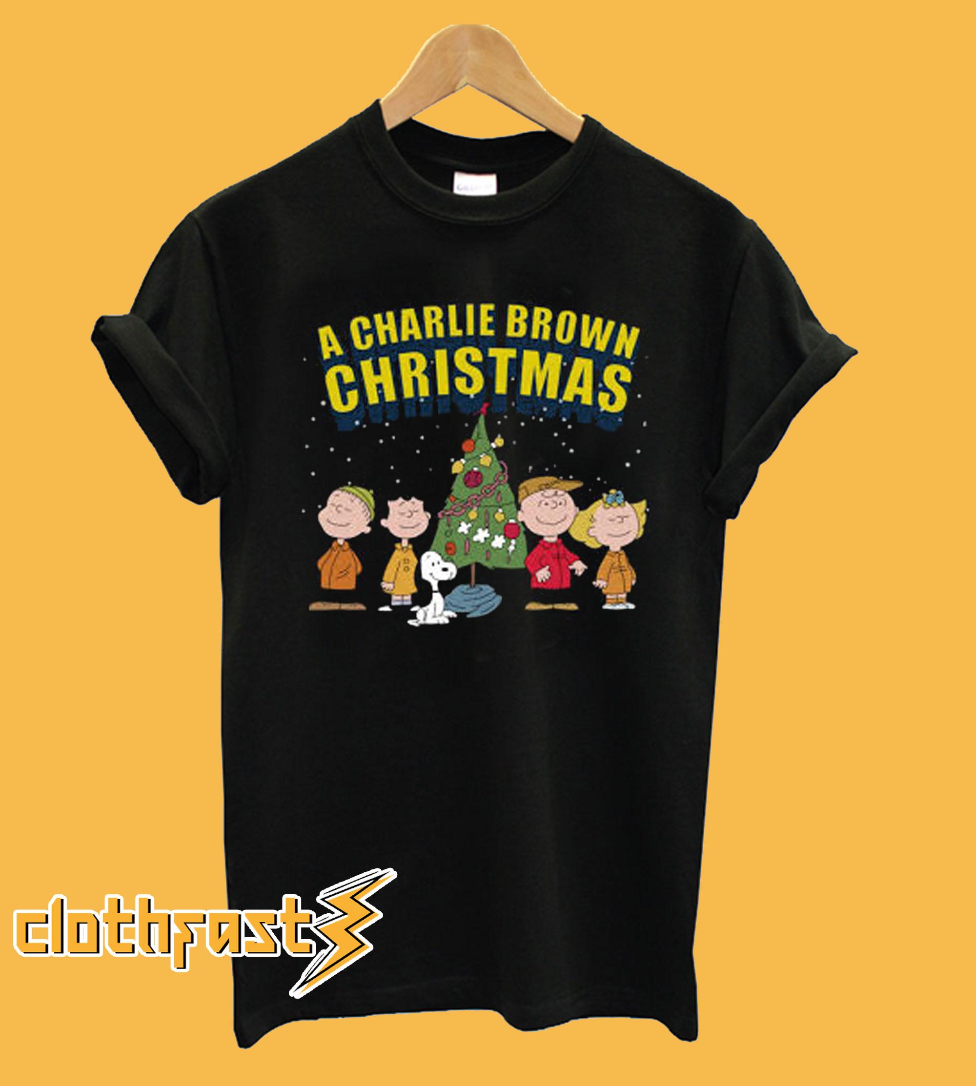 Peanuts A Charlie Brown Christmas T shirt