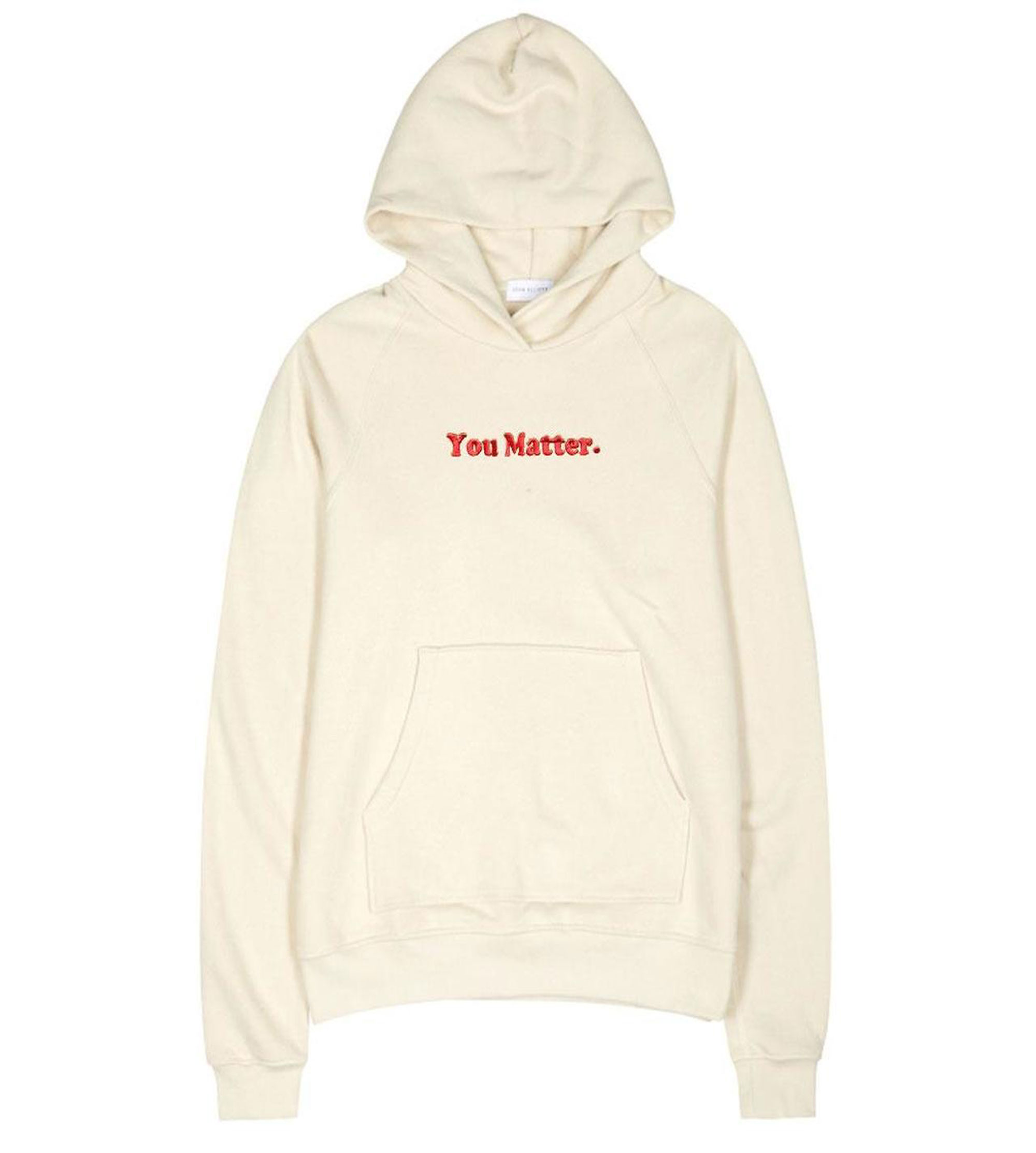 You Matter Cream Hoodie
