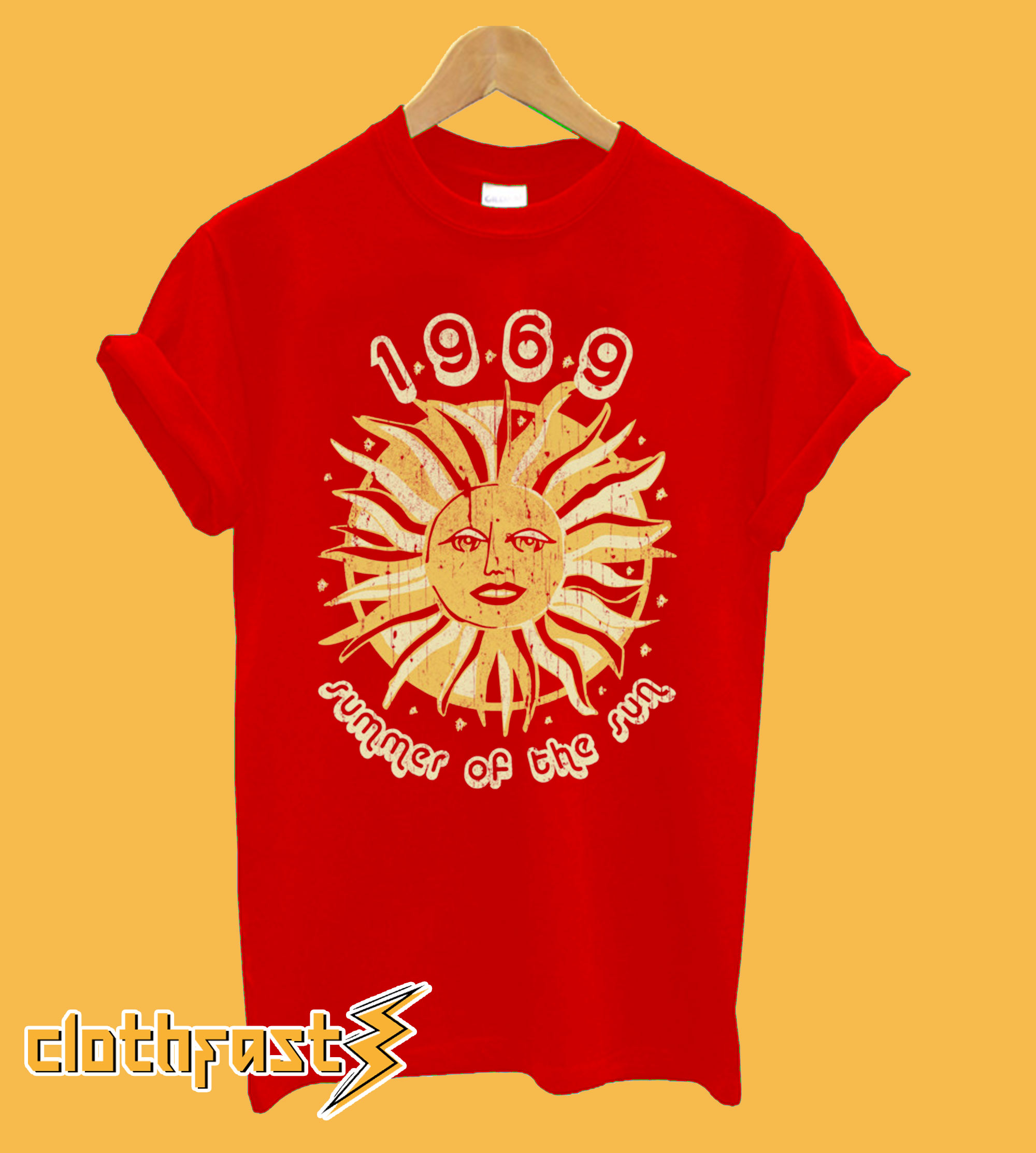 1969 Summer Of The Sun T shirt.