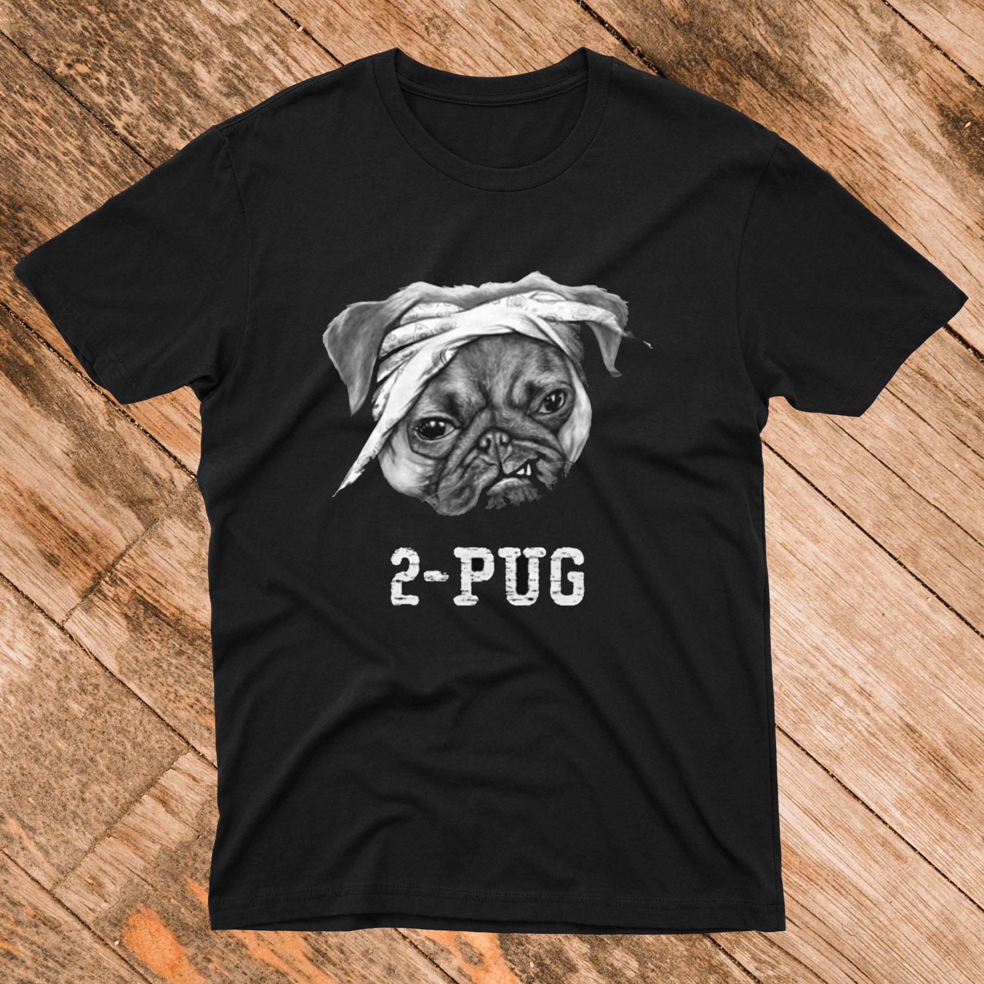 2 Pug T Shirt