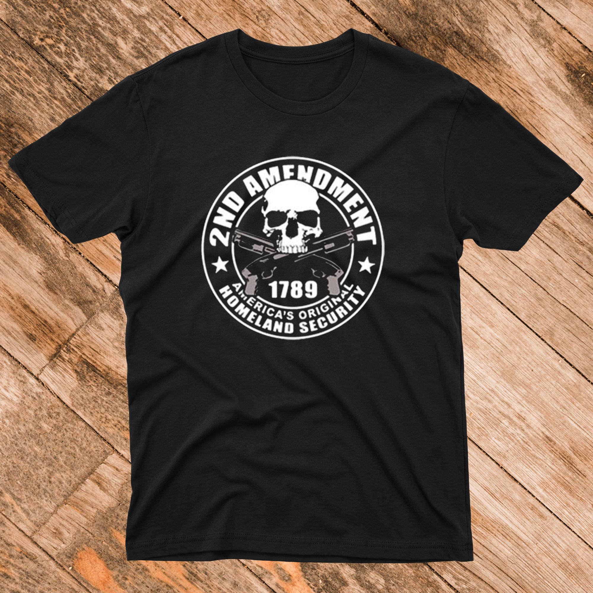 2ND Amendment 1789 T shirt