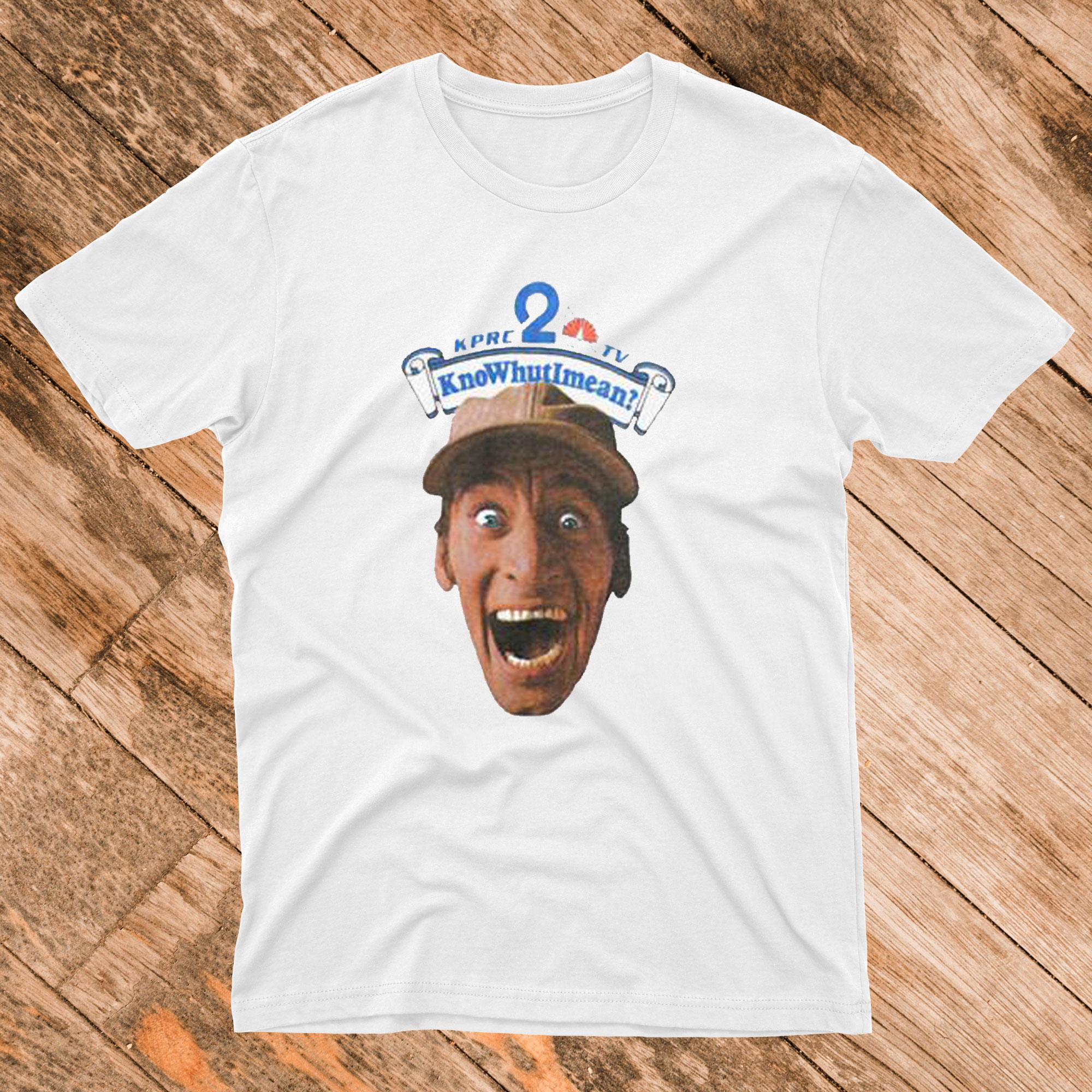 80's Ernest P Worrell KnoWhutIMean Vintage T shirt