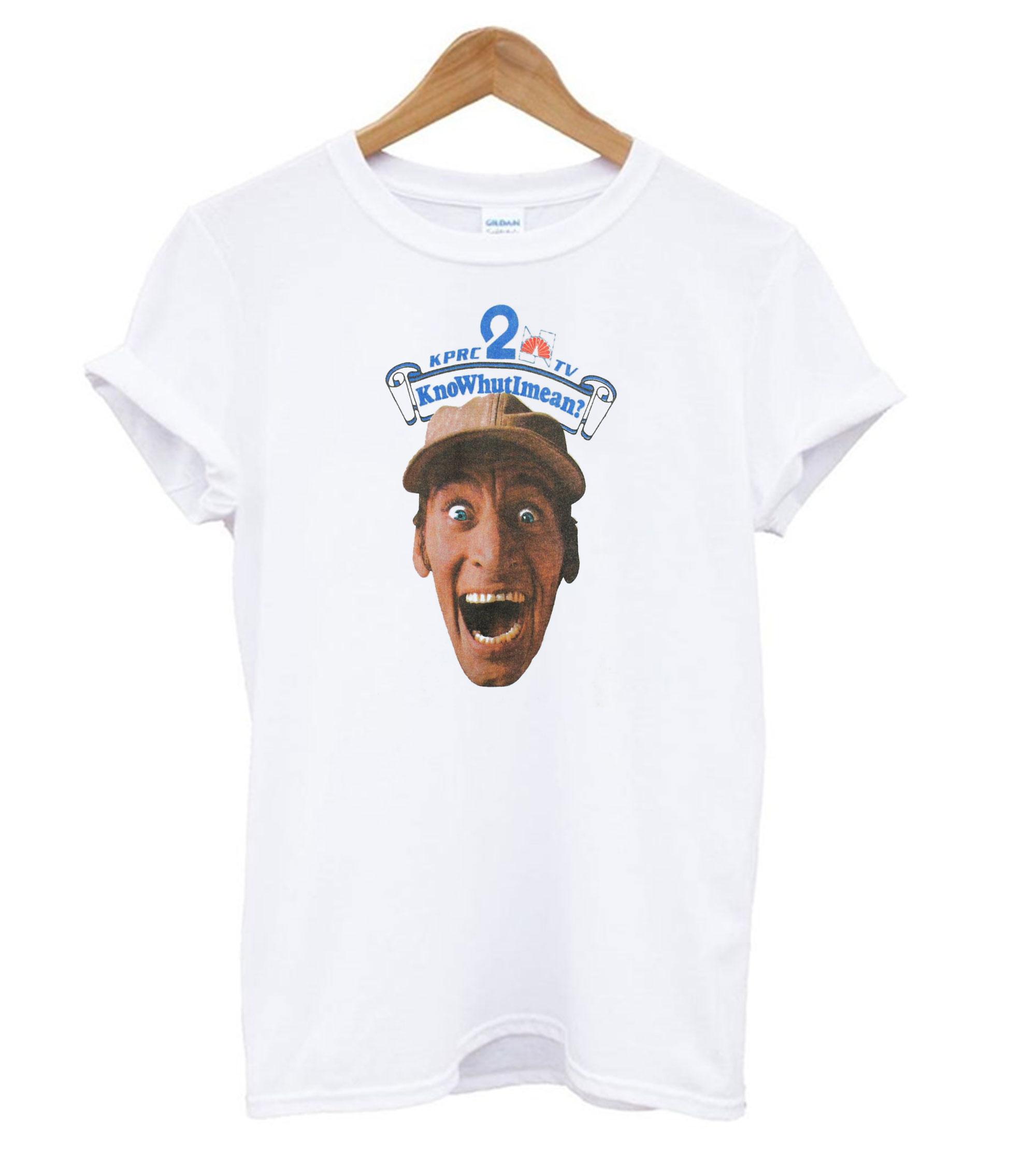 80's Ernest P. Worrell KnoWhutIMean? Vintage T shirt