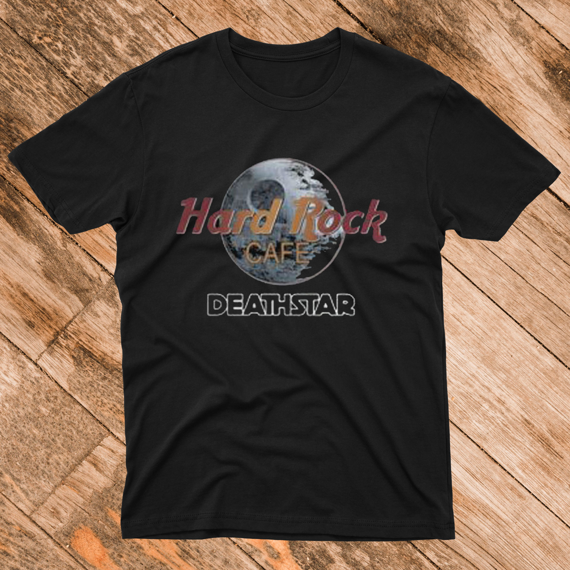 Hard Rock Cafe Death Star T shirt