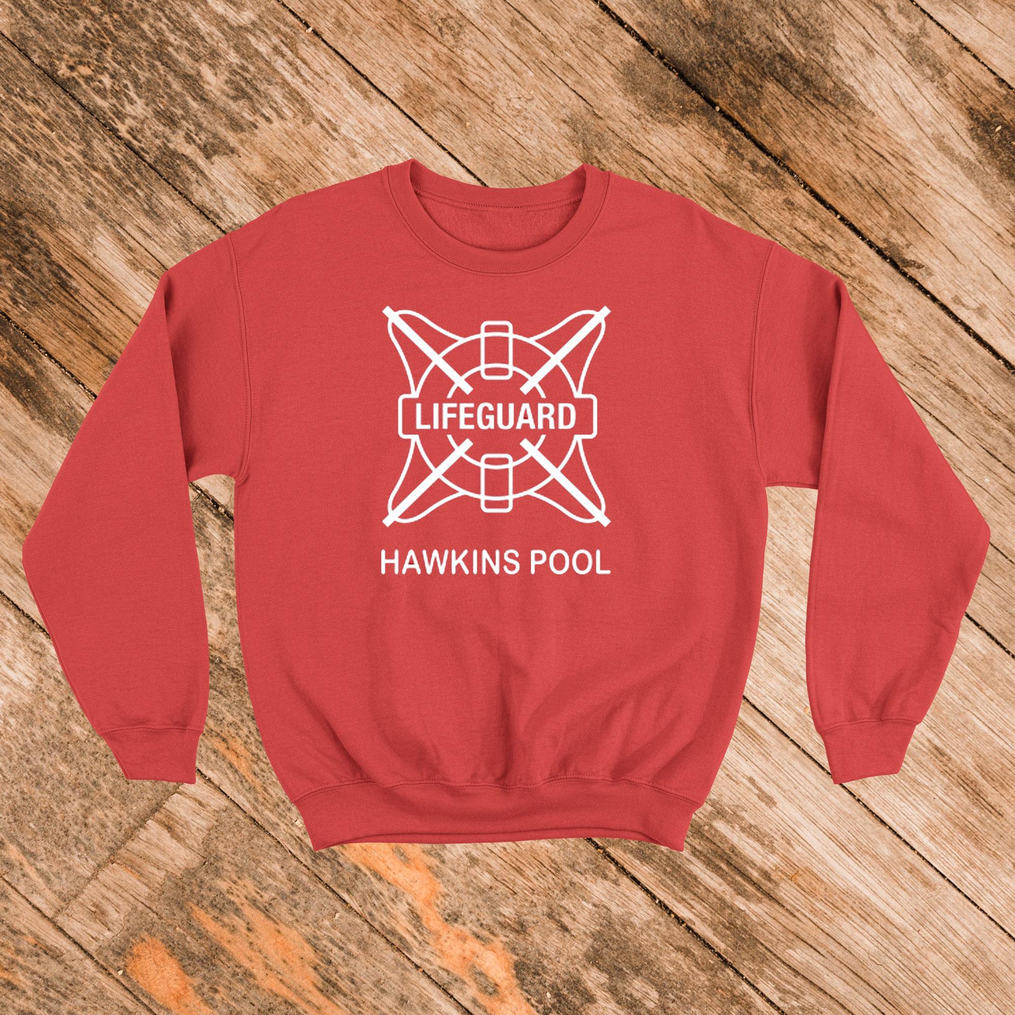 Hawkins Lifeguard Sweatshirt