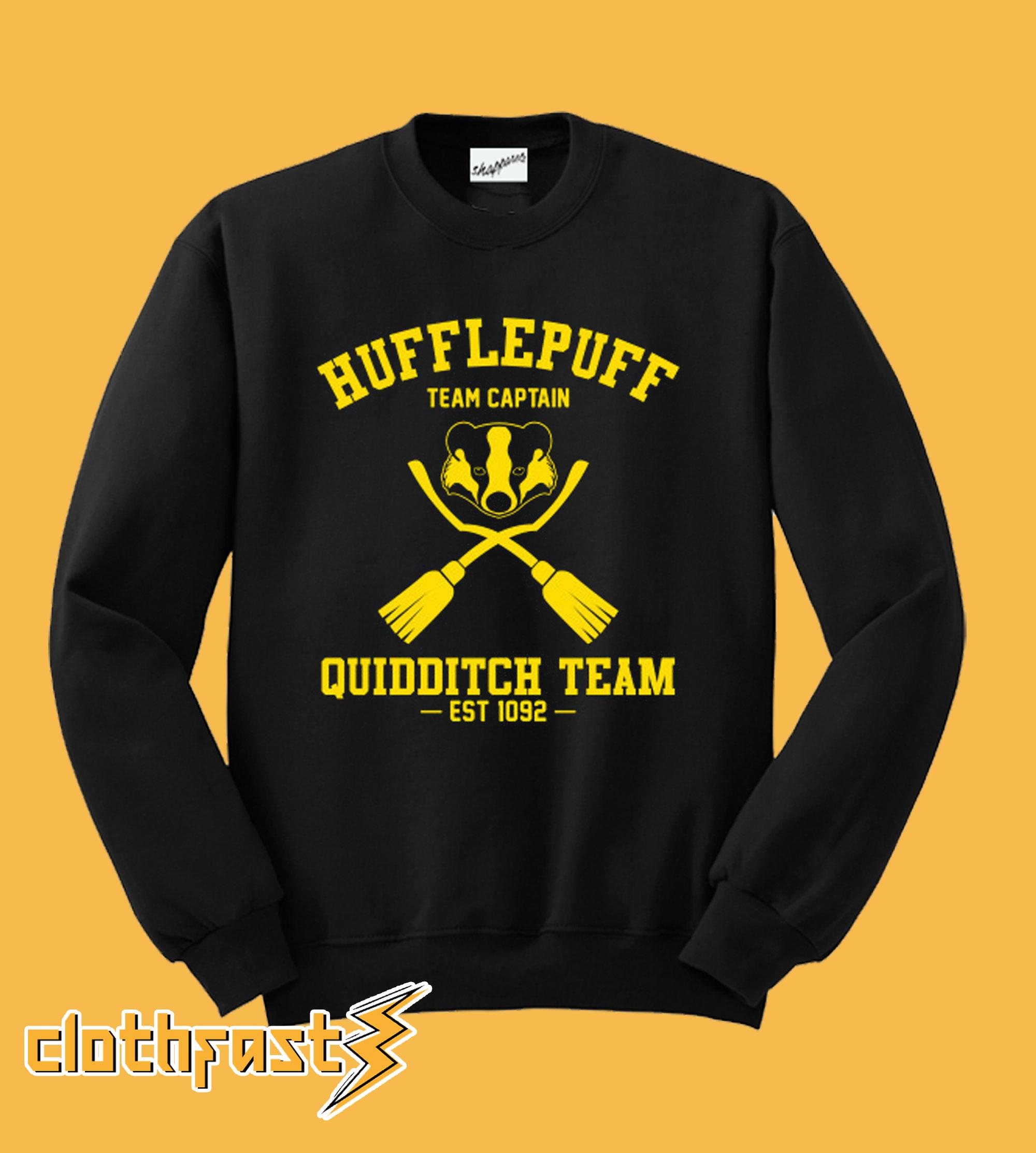 Hufflepuff Quidditch Sweatshirt
