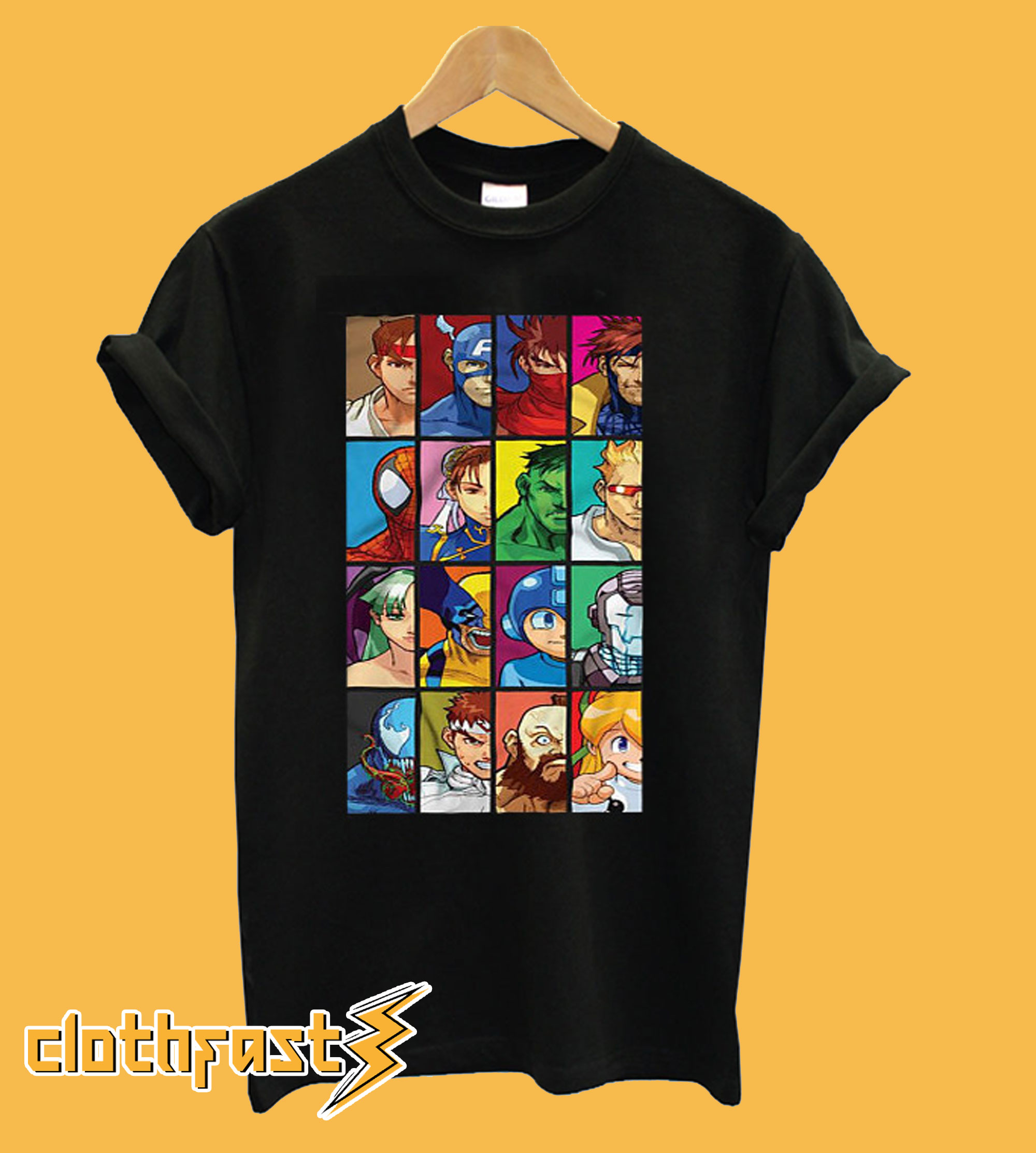 Marvel Vs Capcom T-Shirt