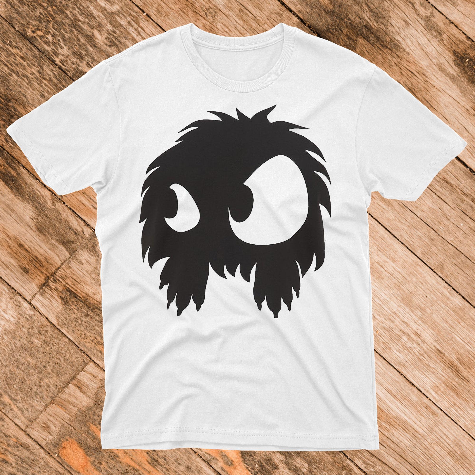 Mens Monster Print Tshirt