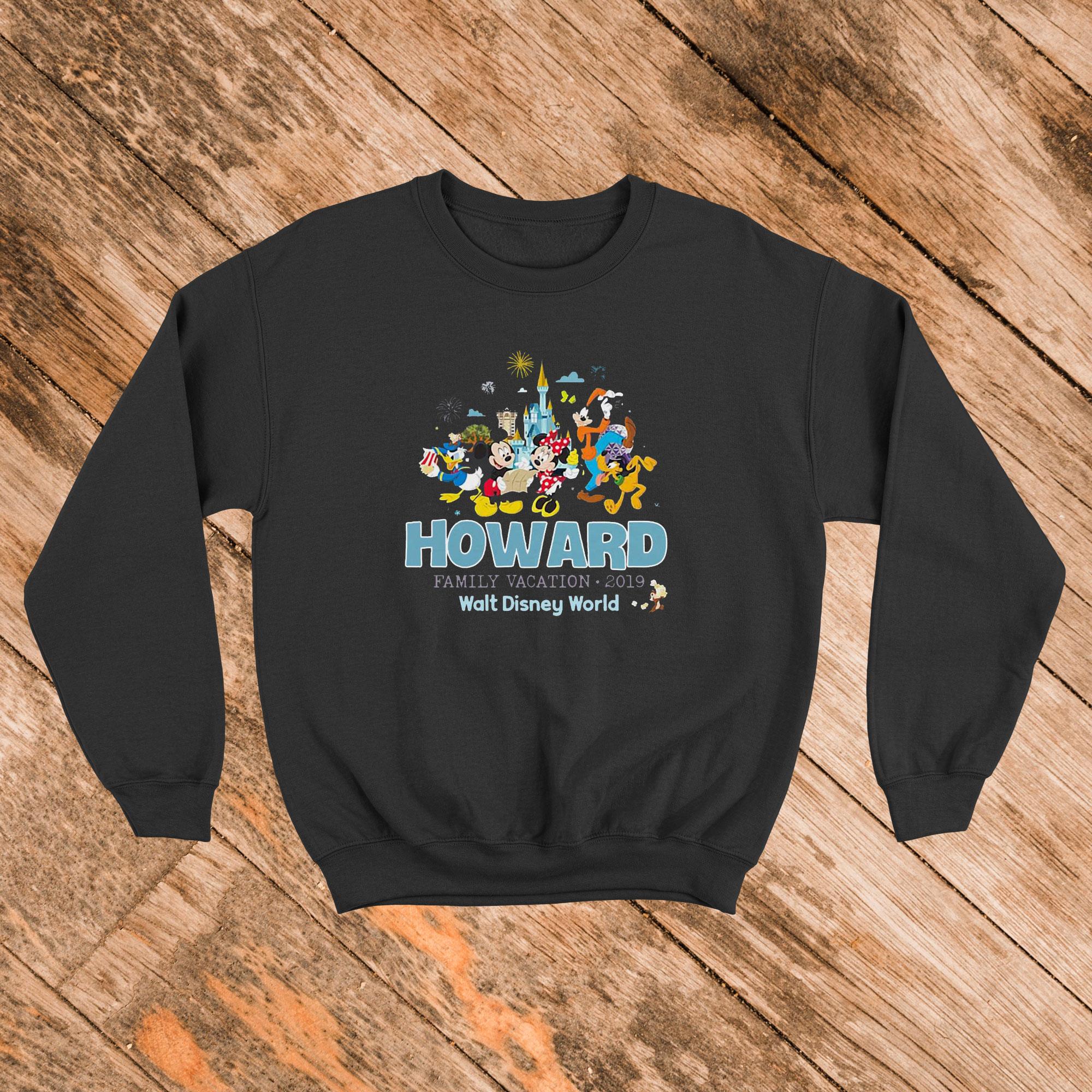 Mickey Mouse with Walt Disney World Sweatshirt