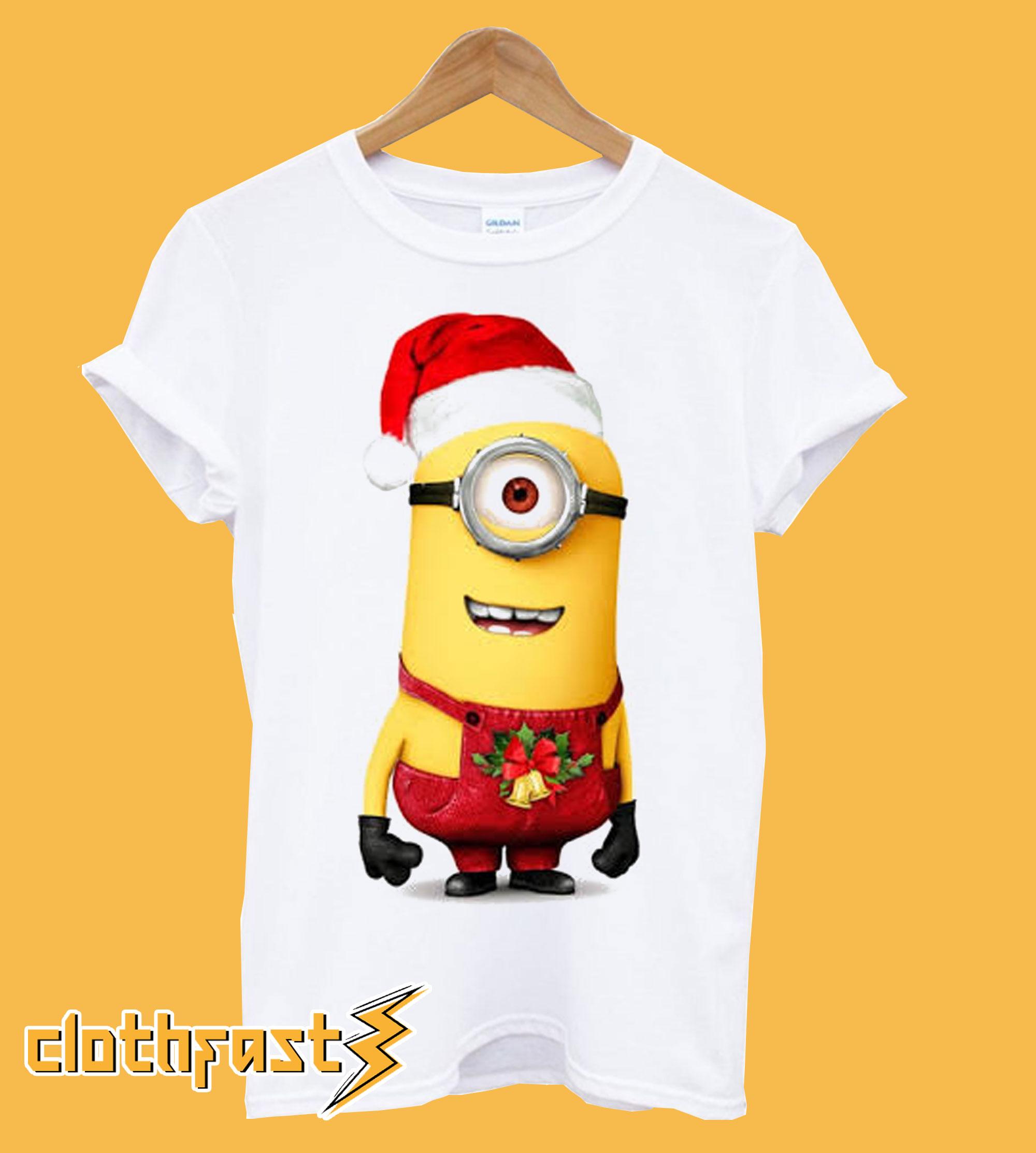 Minions Christmas T Shirt