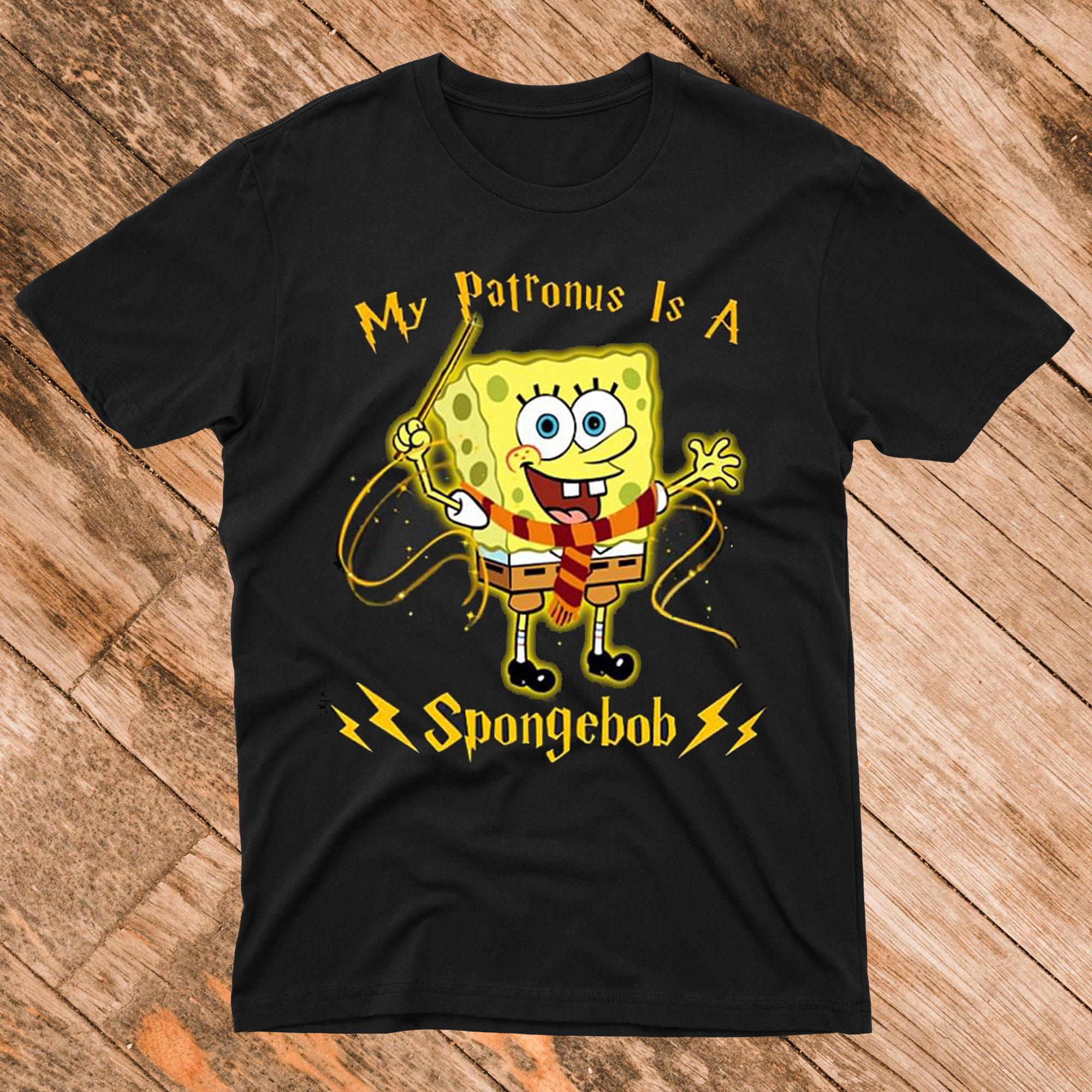 My Patronus Is A Spongebob T shirt