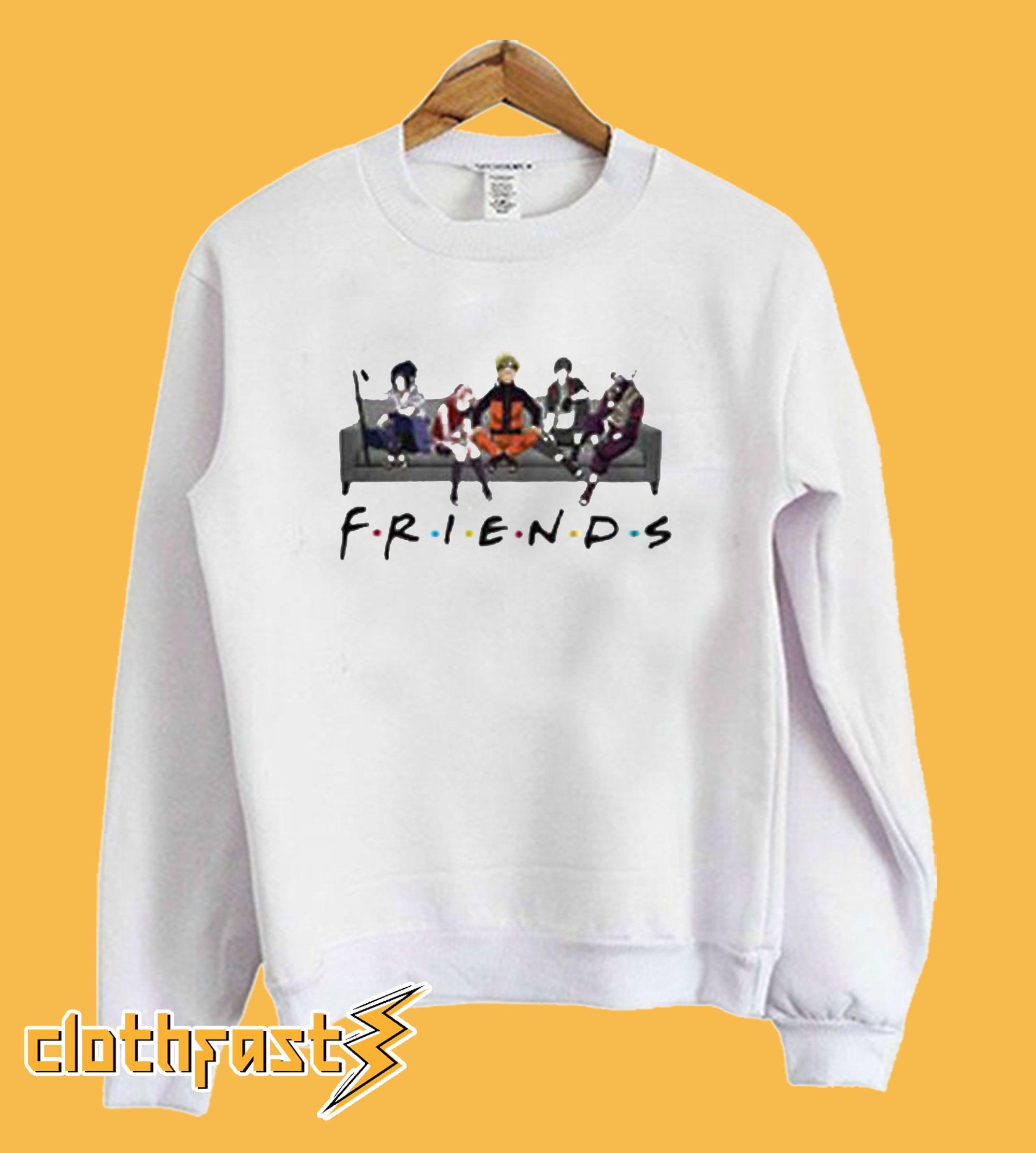 Naruto Friends Sweatshirt