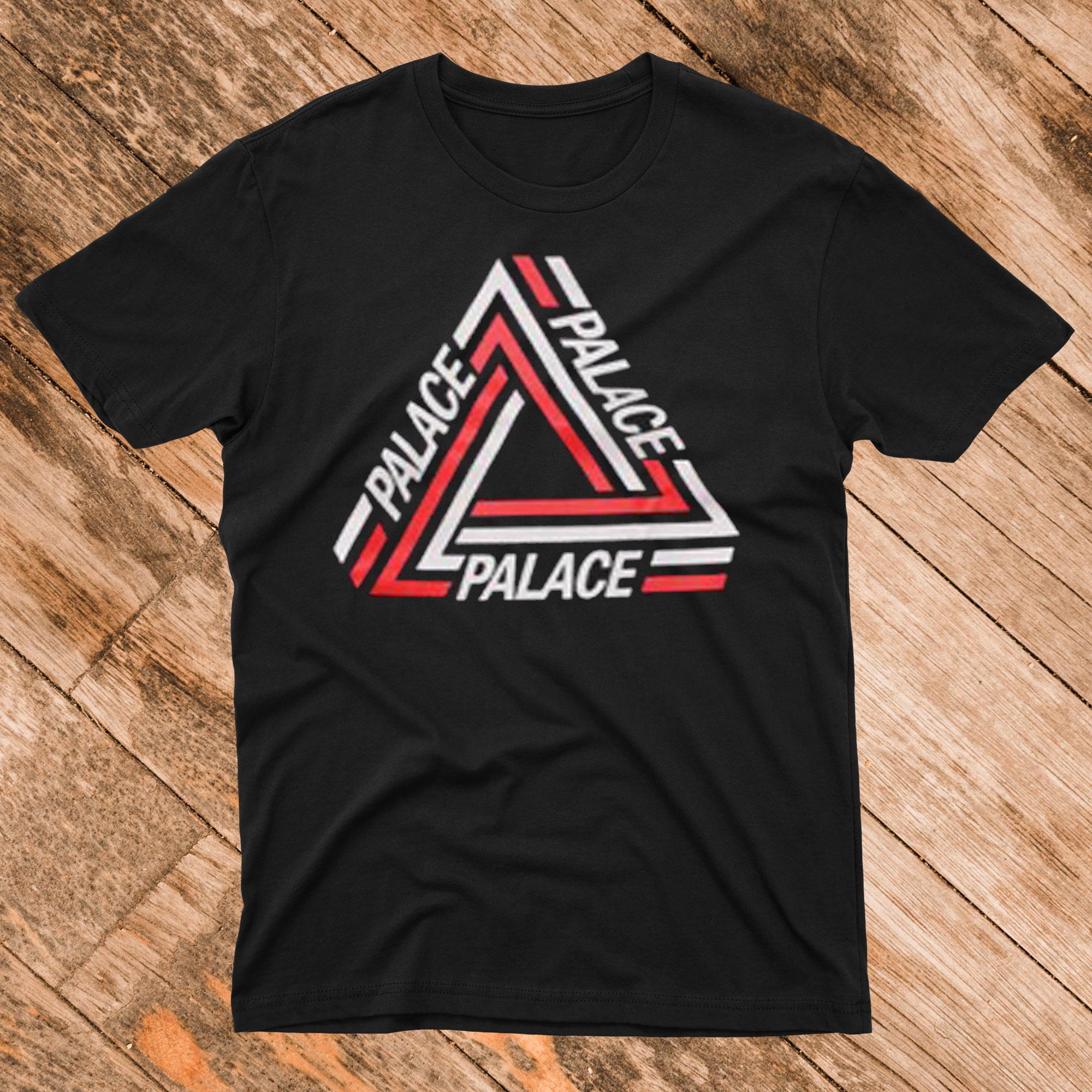 Palace Tshirt Black White