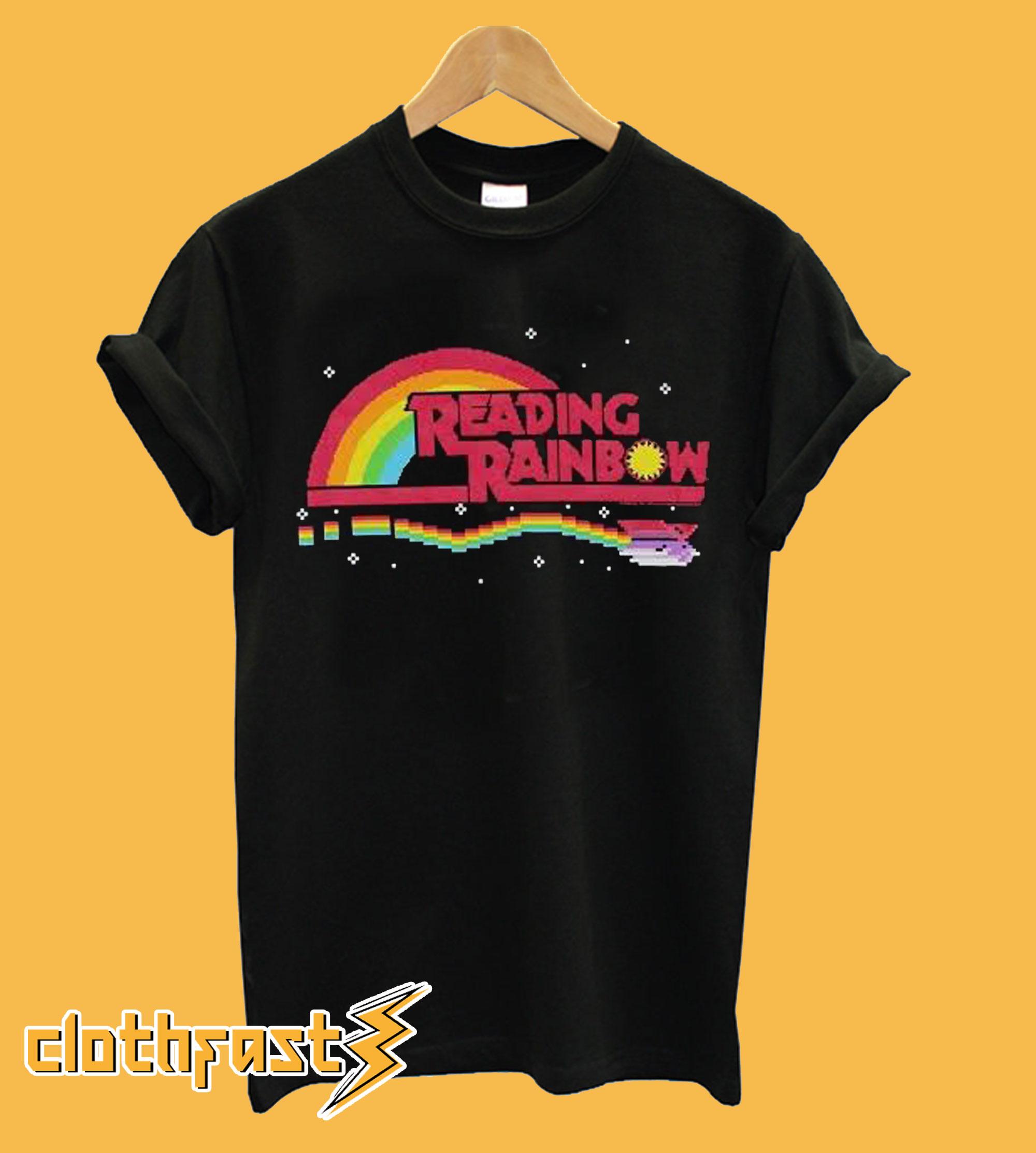 Reading Rainbow T-Shirt.