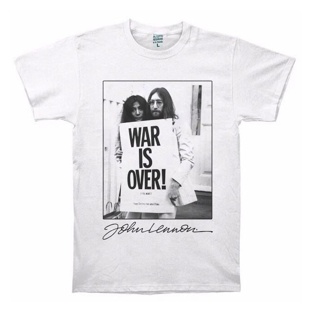 War is Over T shirt