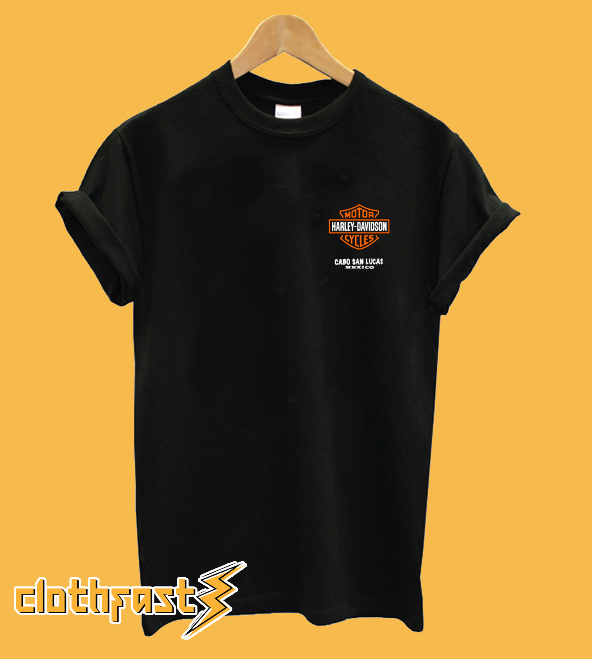 Harley Davidson Cabo San Lucas Mexico T-Shirt