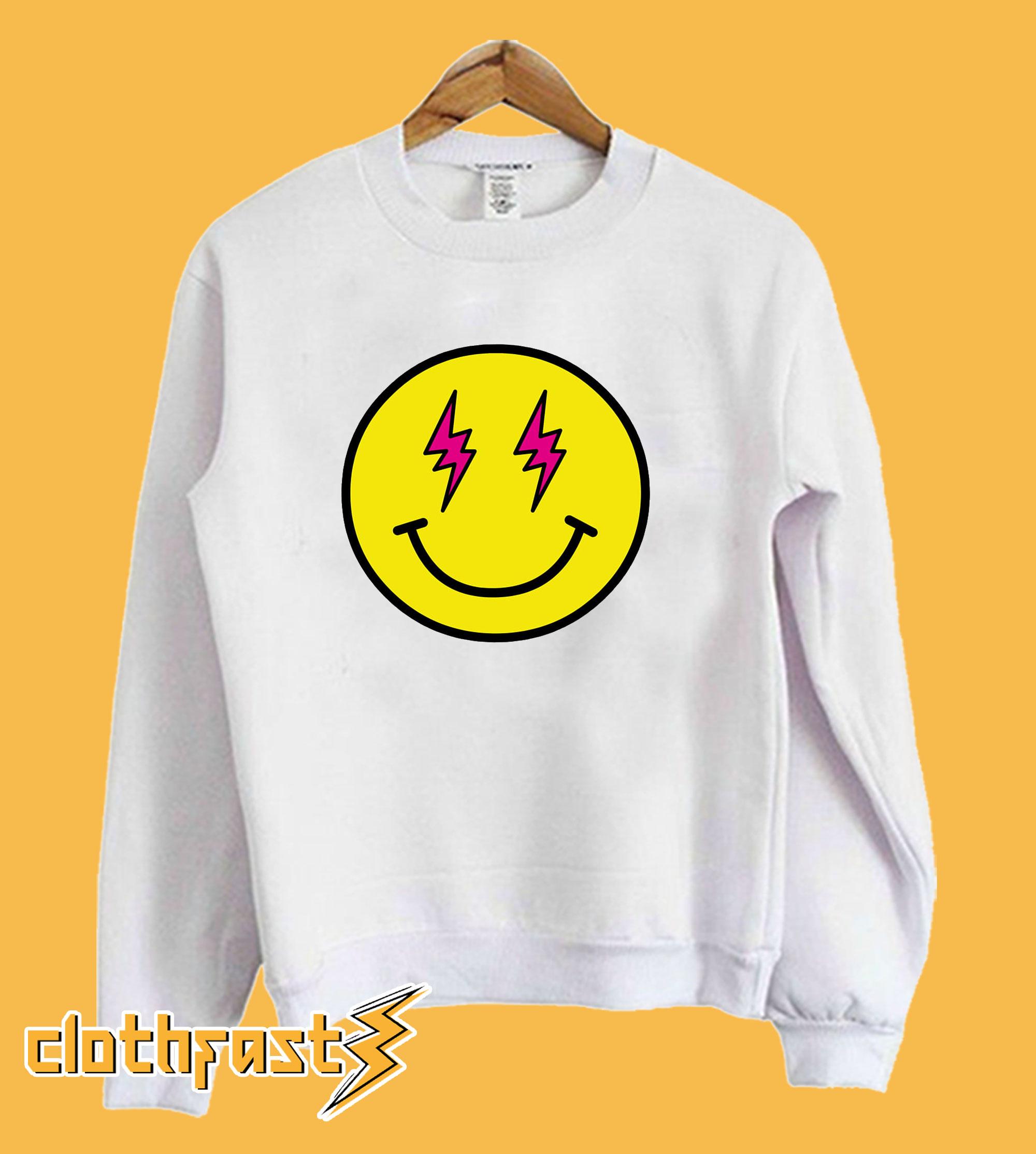J Balvin Energia Smiling Face Emoji Sweatshirt