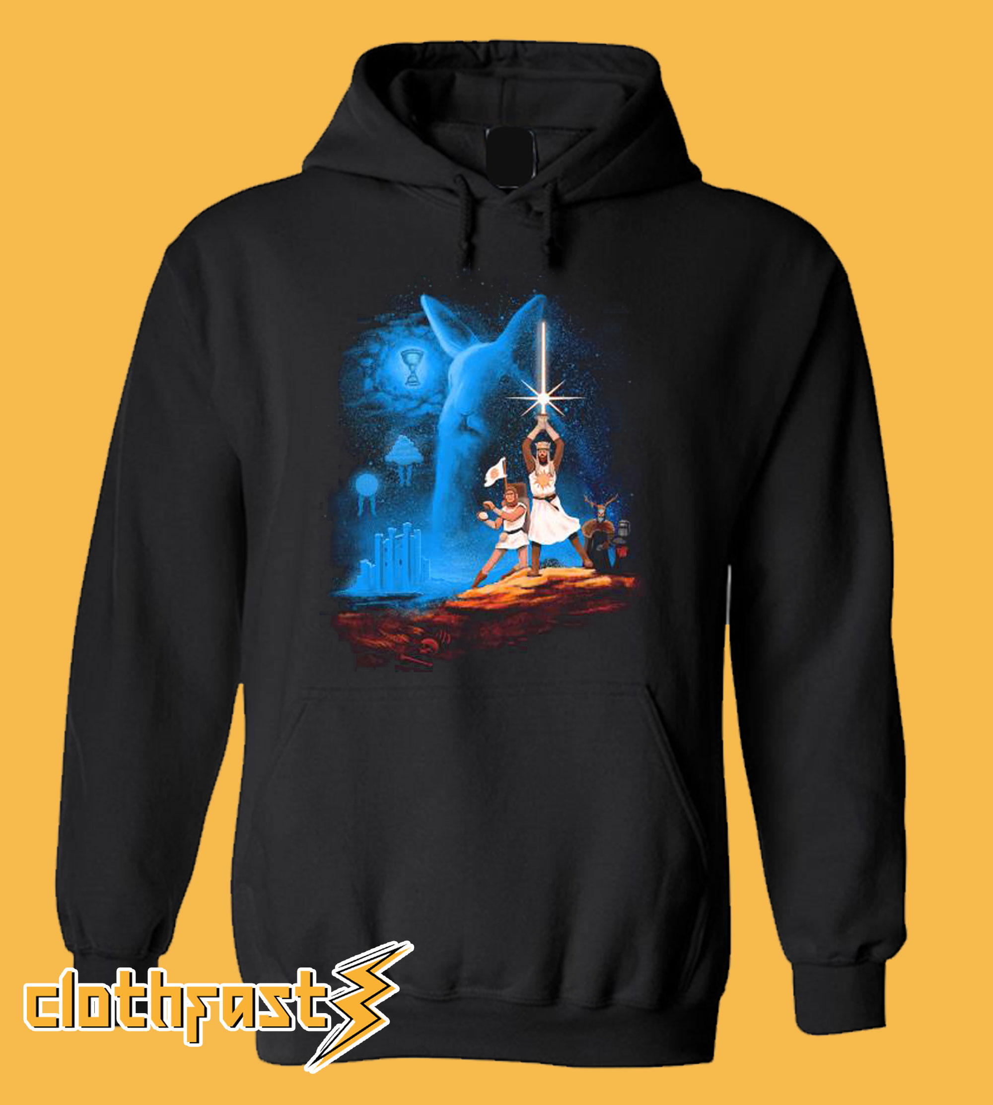 Love Monty Python and The Holy Grail Hoodie