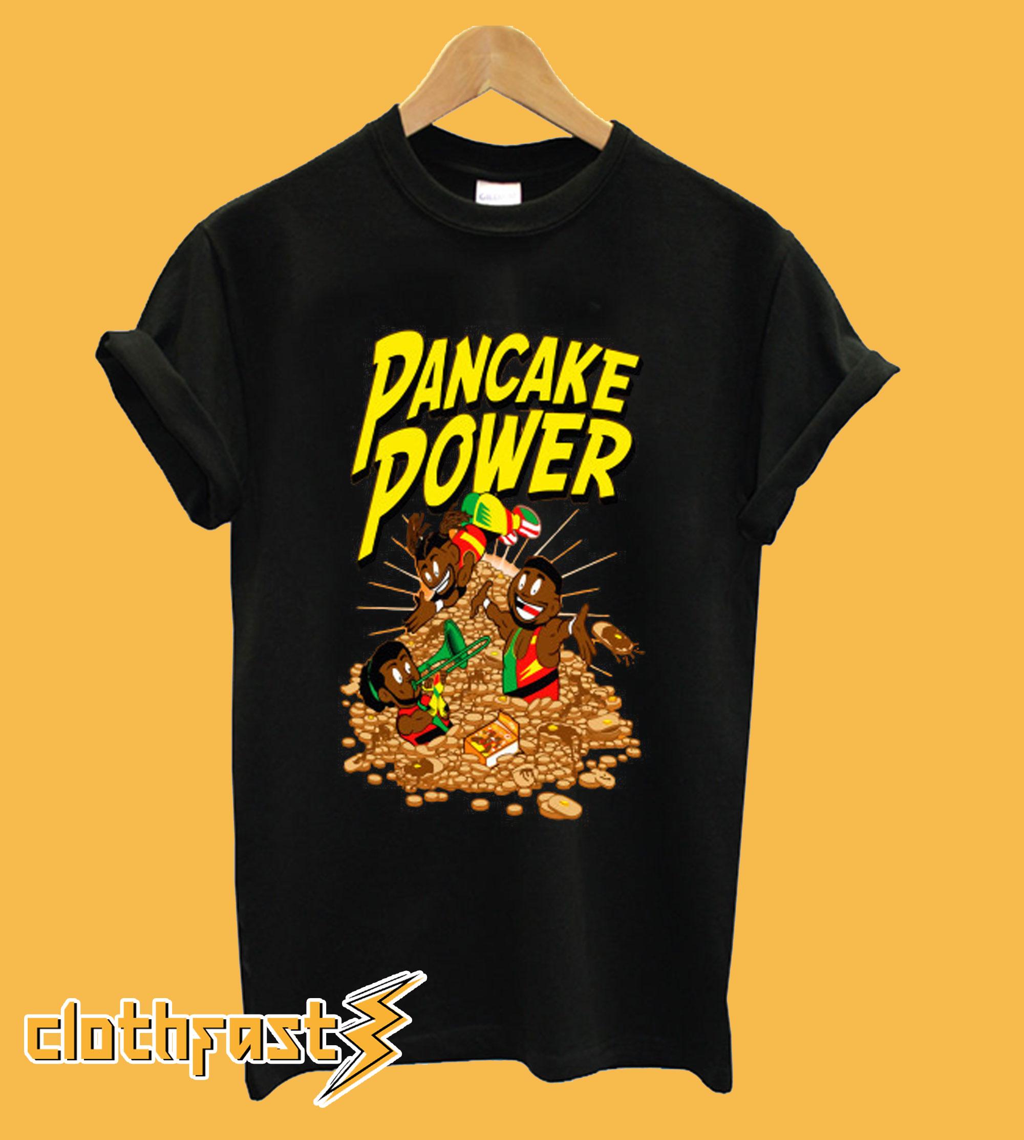 Pancake Power T shirt